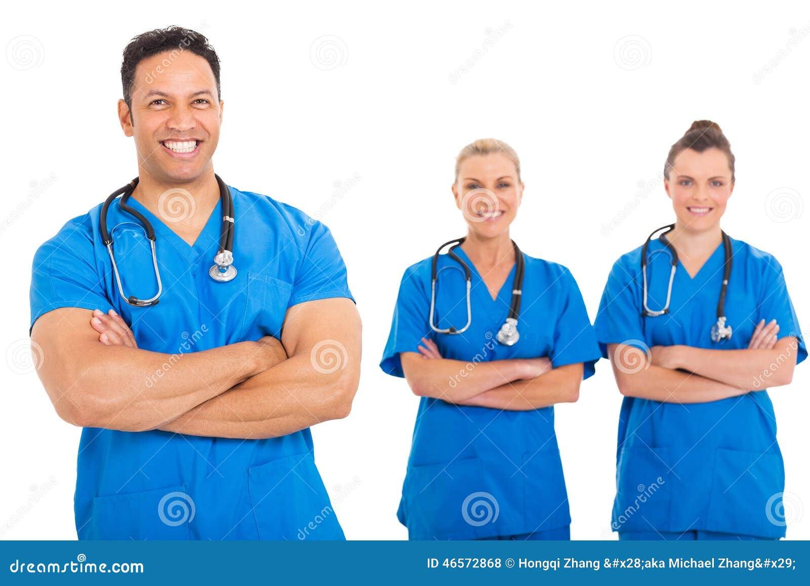 Équipe médicale de docteur