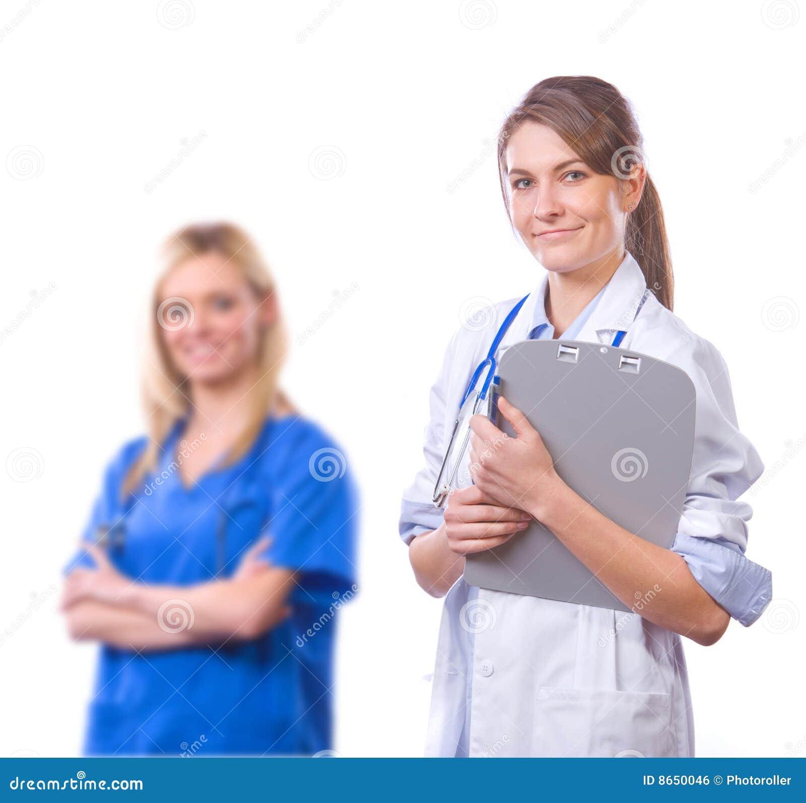 Équipe médicale féminine