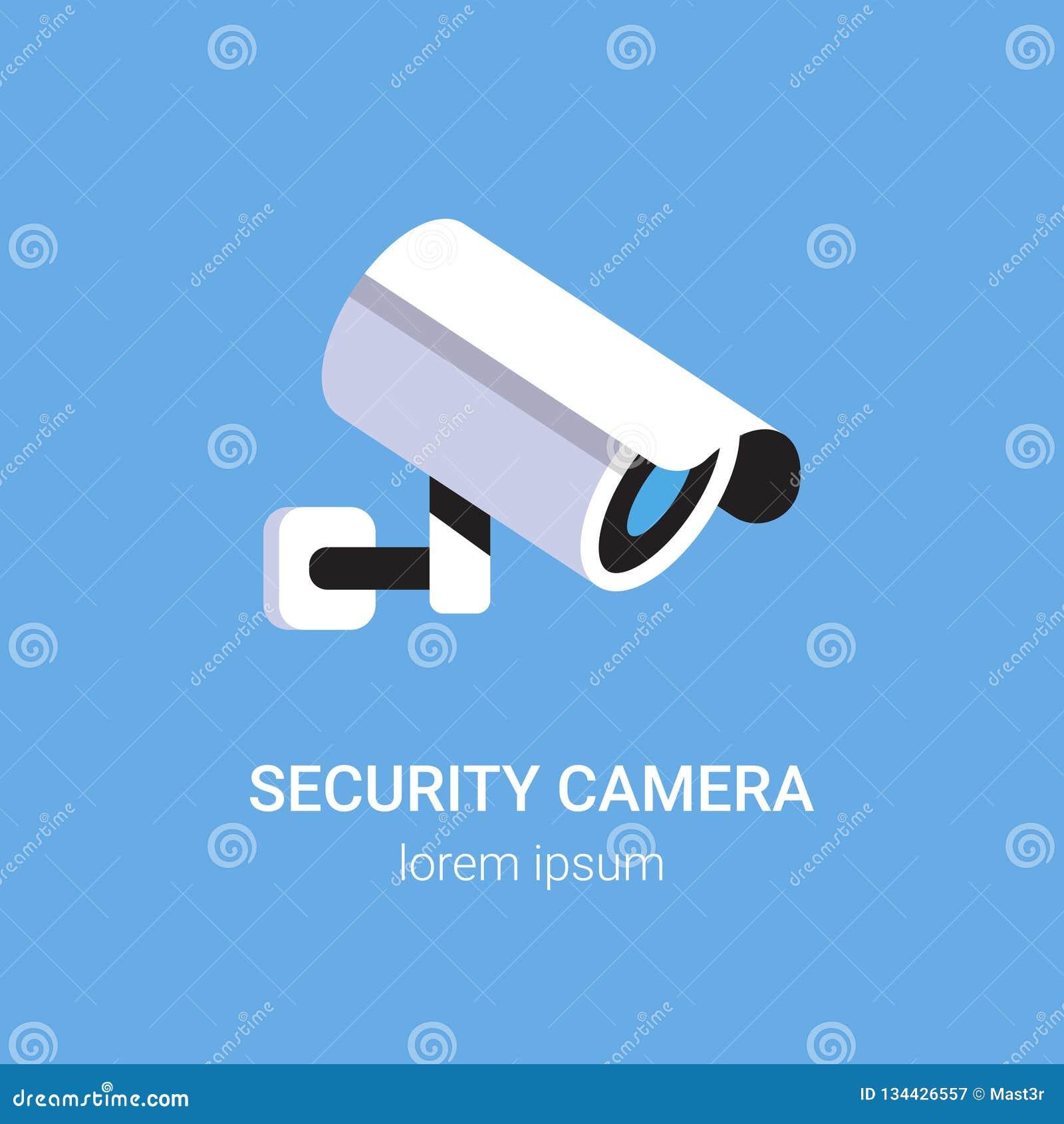 Équipement de surveillance de caméra de sécurité des systèmes de surveillance de télévision en circuit fermé sur l appartement bl