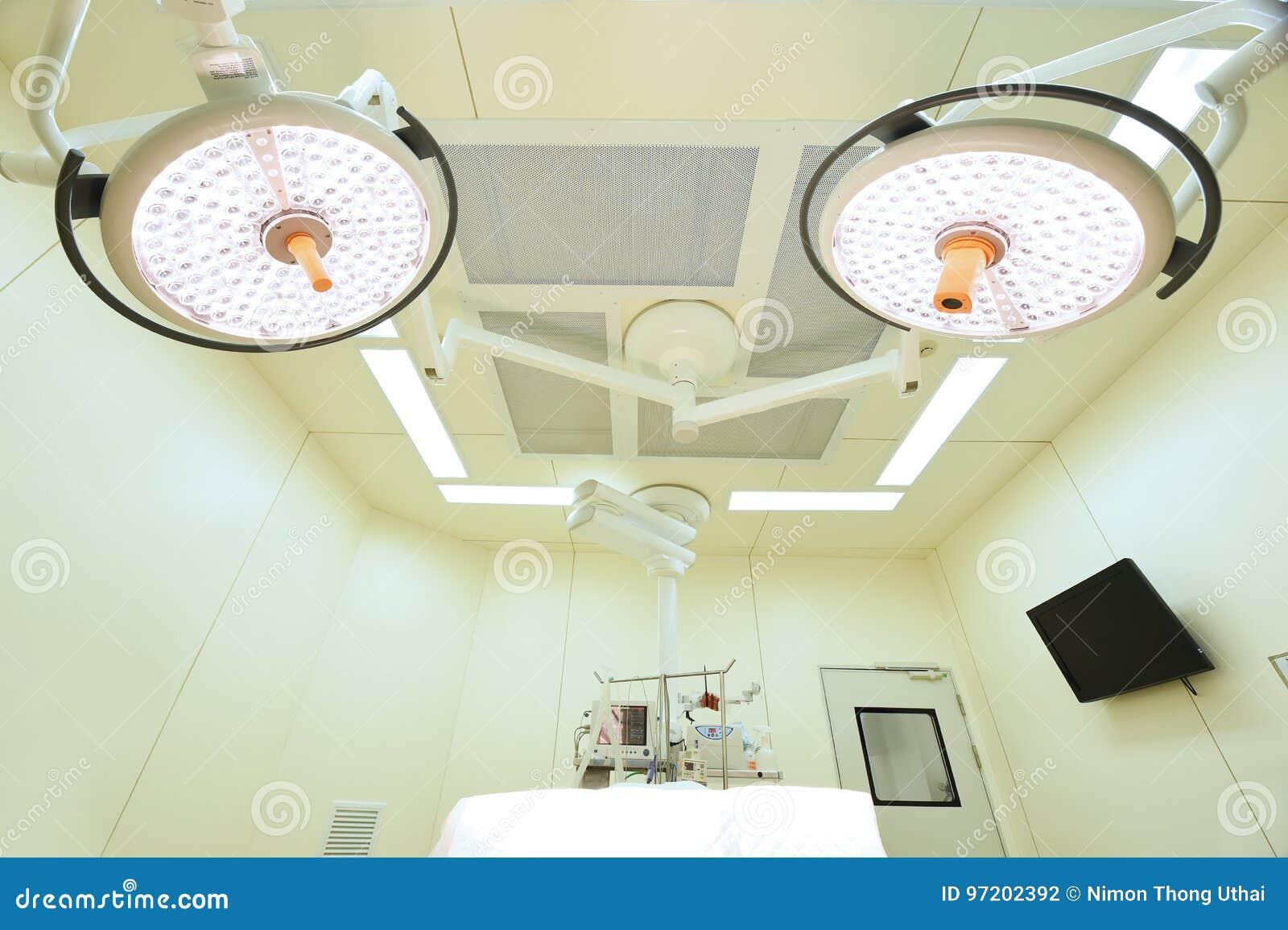 Équipement et dispositifs médicaux dans la salle d opération moderne