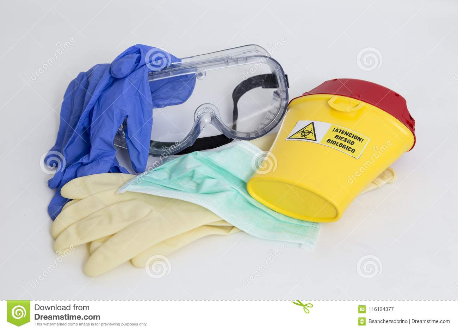 Équipement pour la protection contre le risque biologique