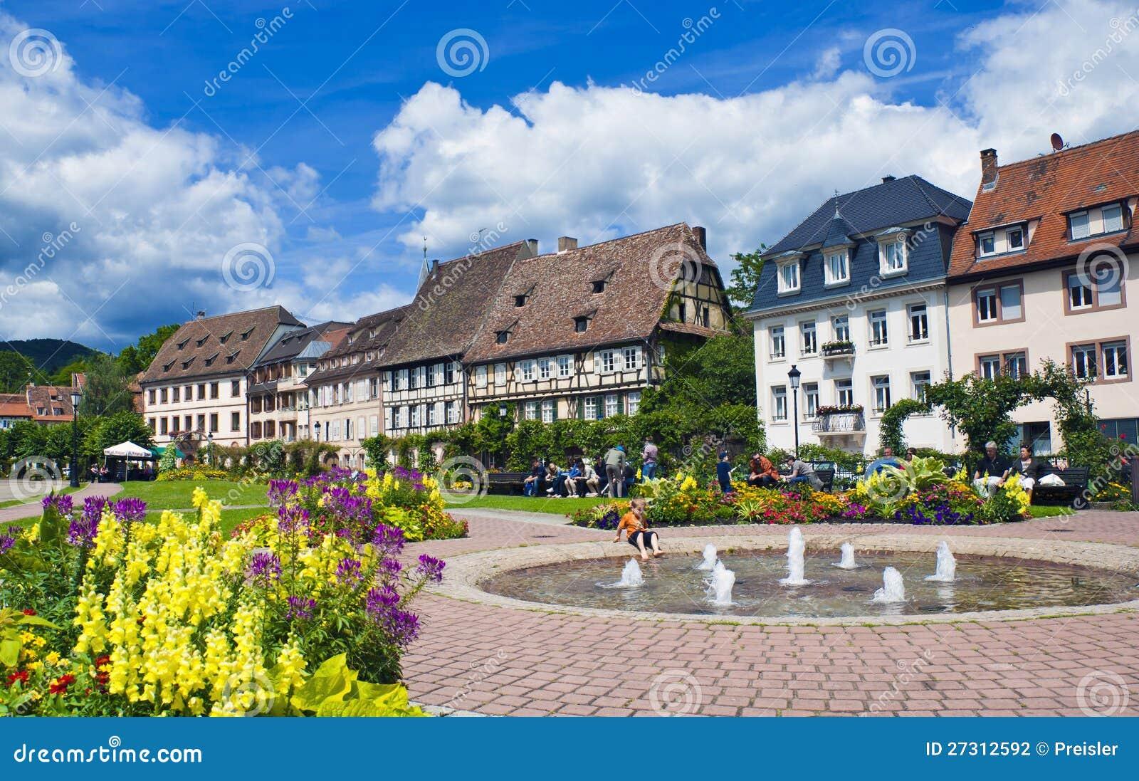 Été dans Wissembourg - zone de relaxation