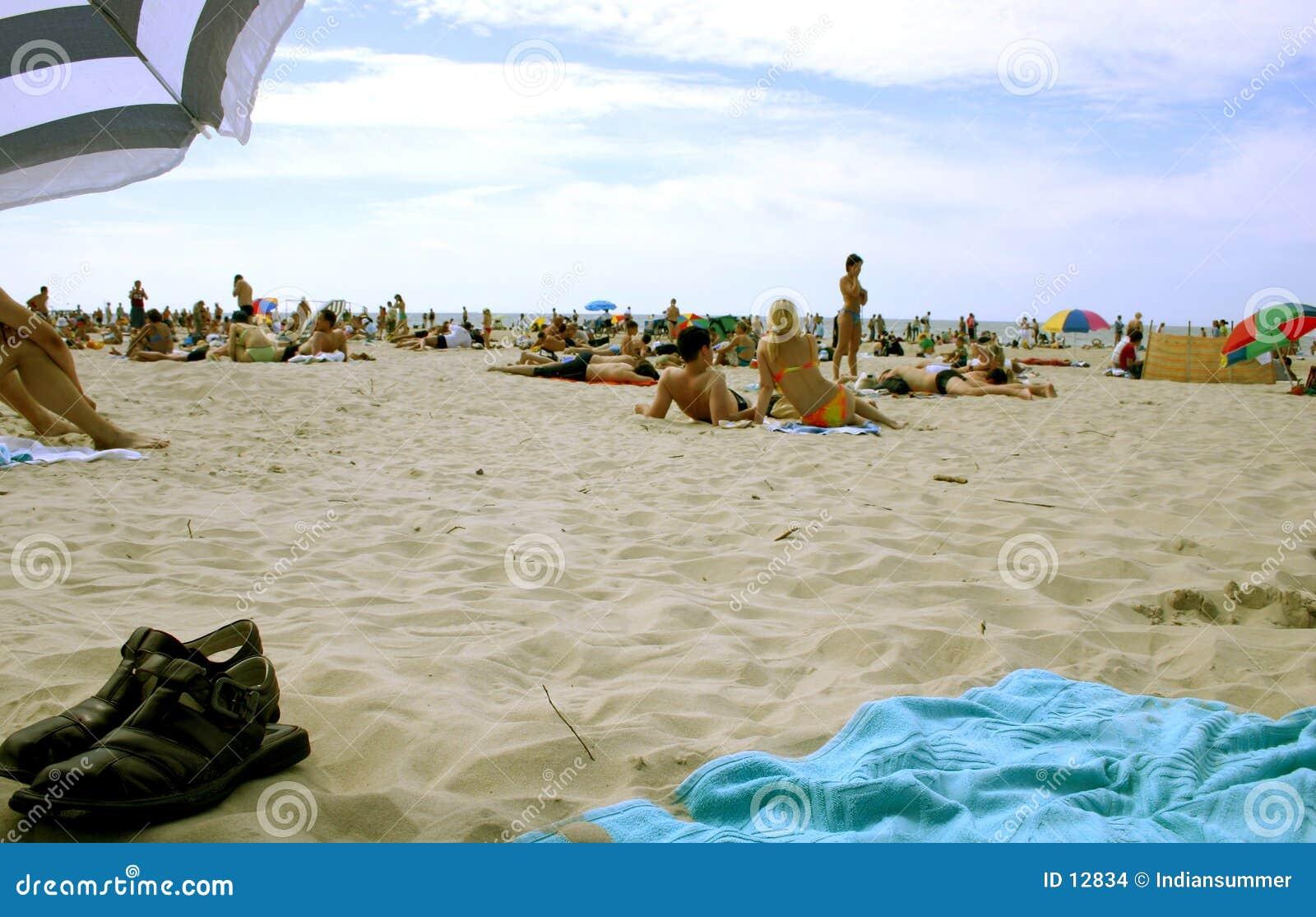 Été sur la plage