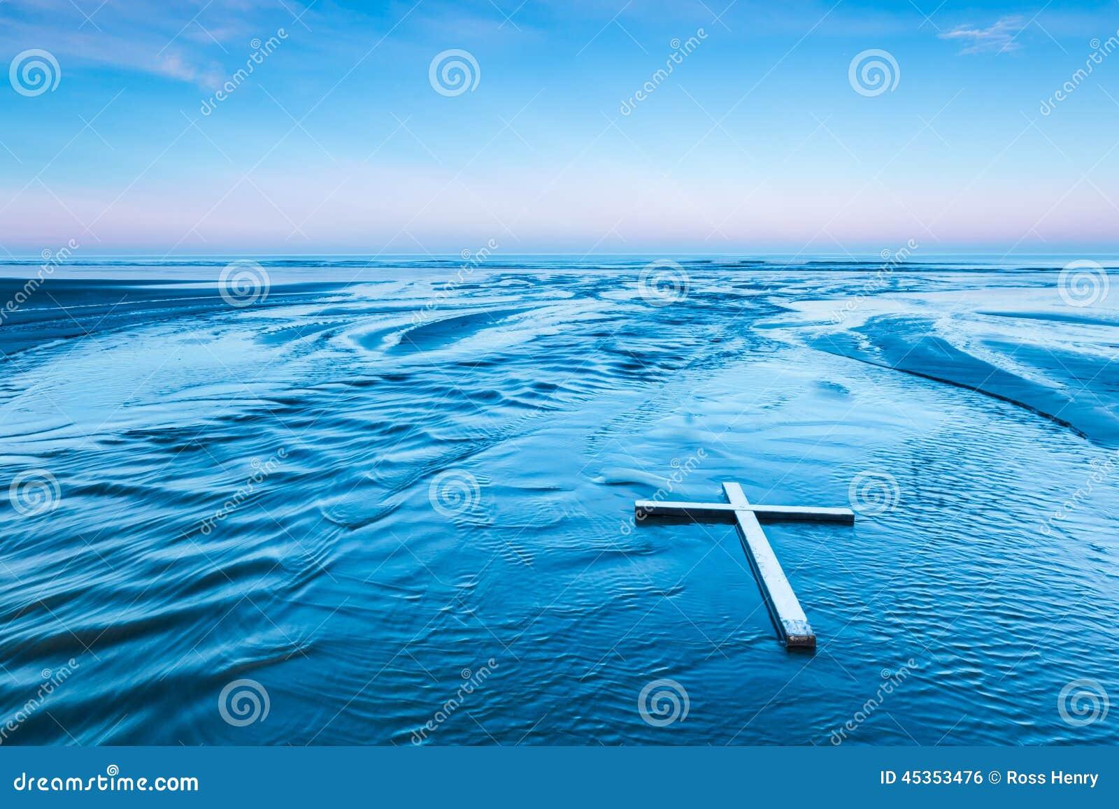 Établir la croix blanche