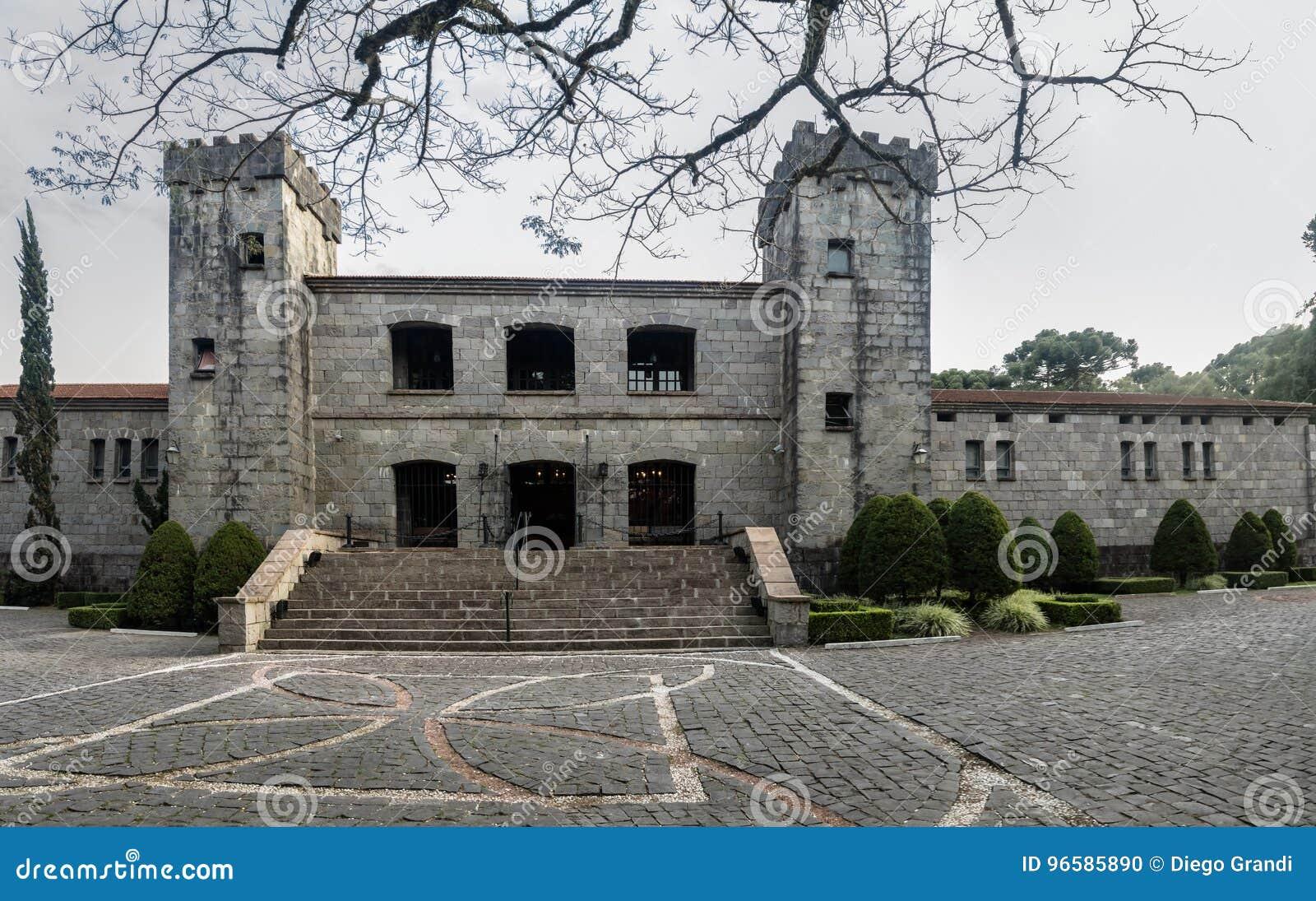 Établissement vinicole et restaurant de château de Lacave - Caxias font Sul, Rio Grande