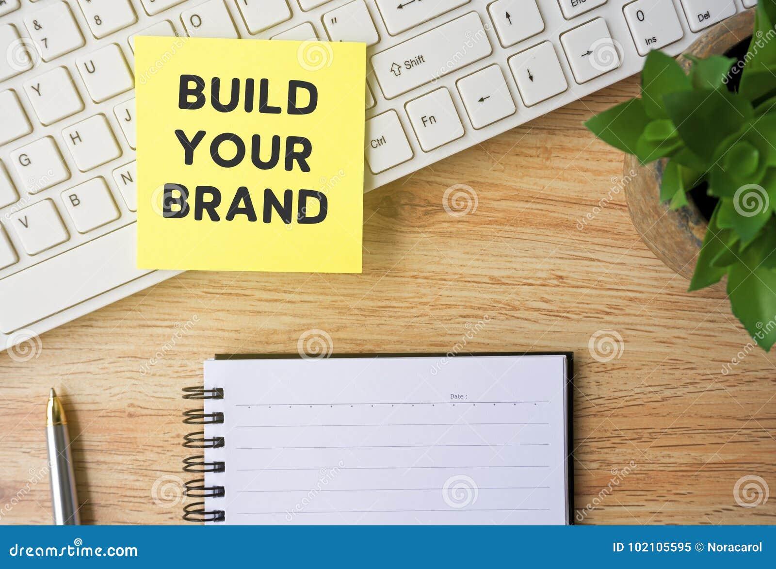 Établissez votre marque