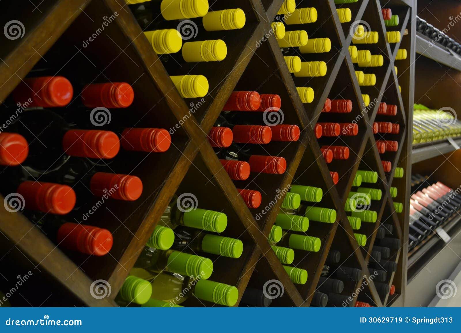Étagère de vin