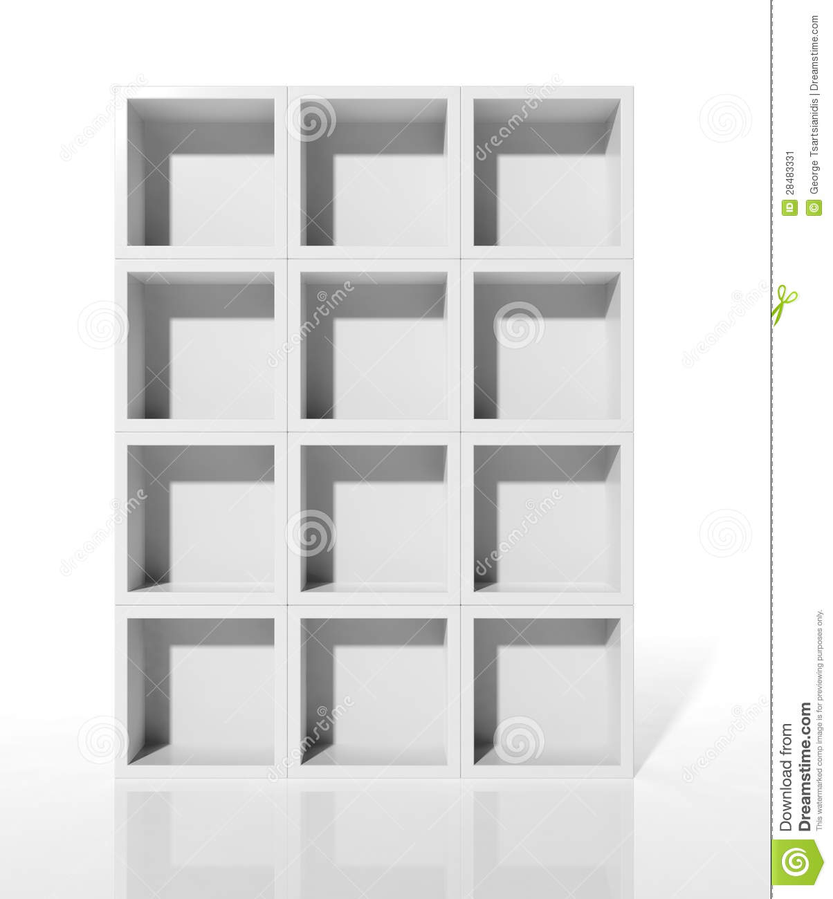 tag res blanches image stock image 28483331. Black Bedroom Furniture Sets. Home Design Ideas