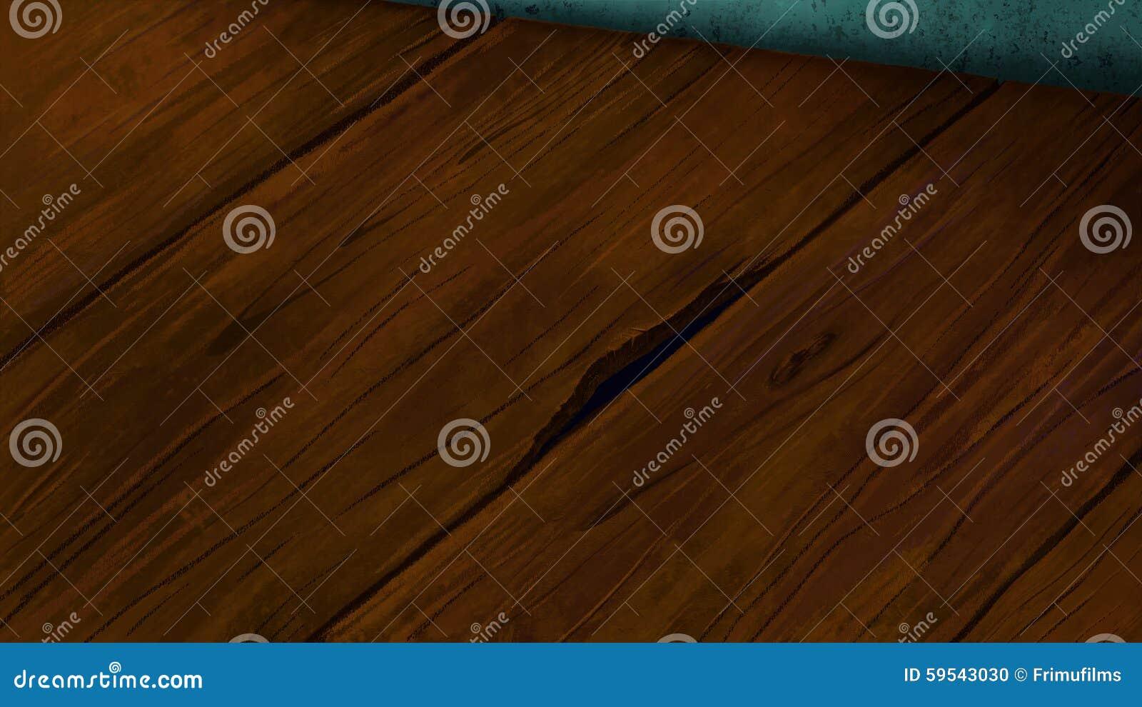 Étage en bois