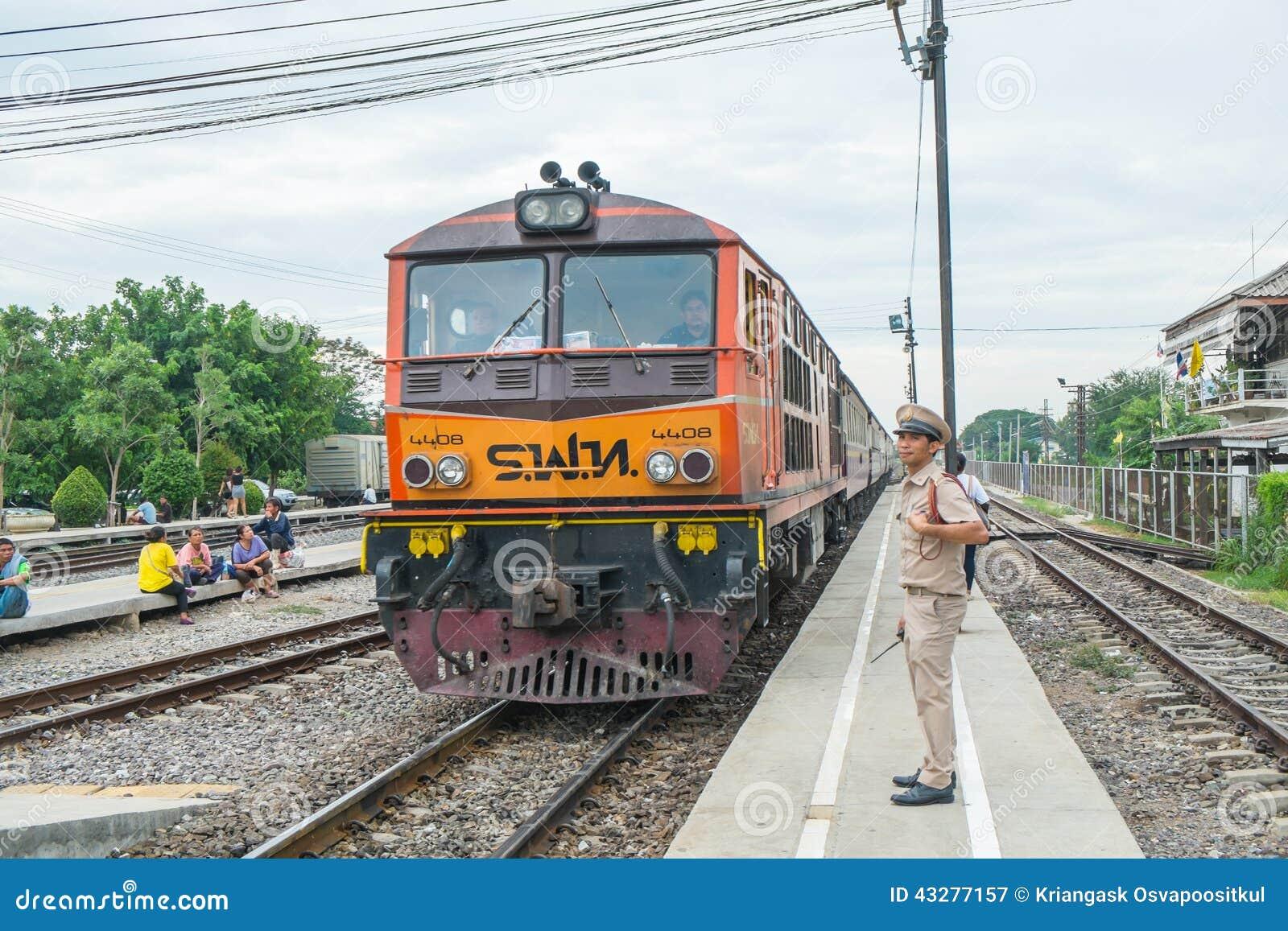 4408 étaient les arrêts de train à la gare ferroviaire d Ayutthaya