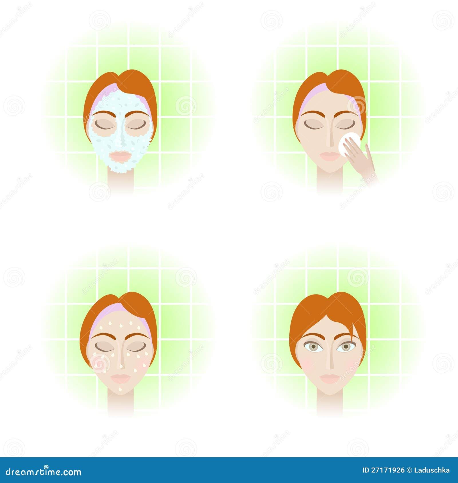 soin visage etapes