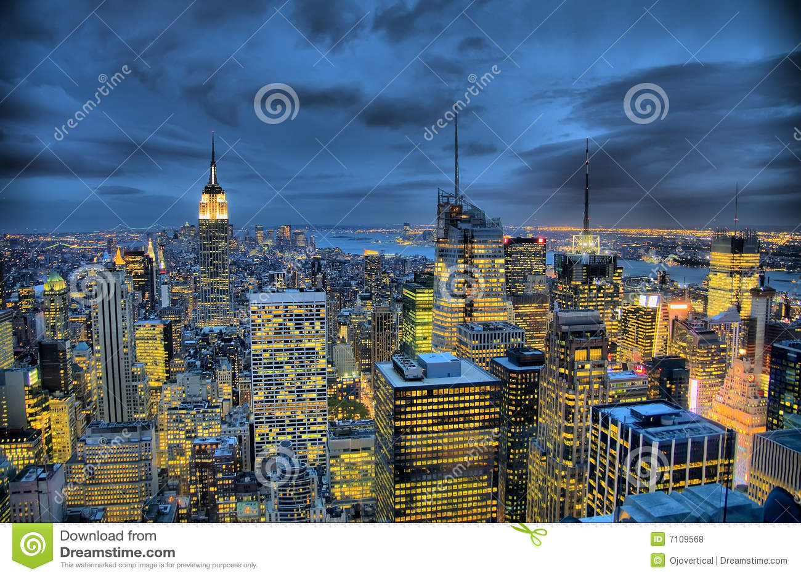 État de Manhattan et d empire