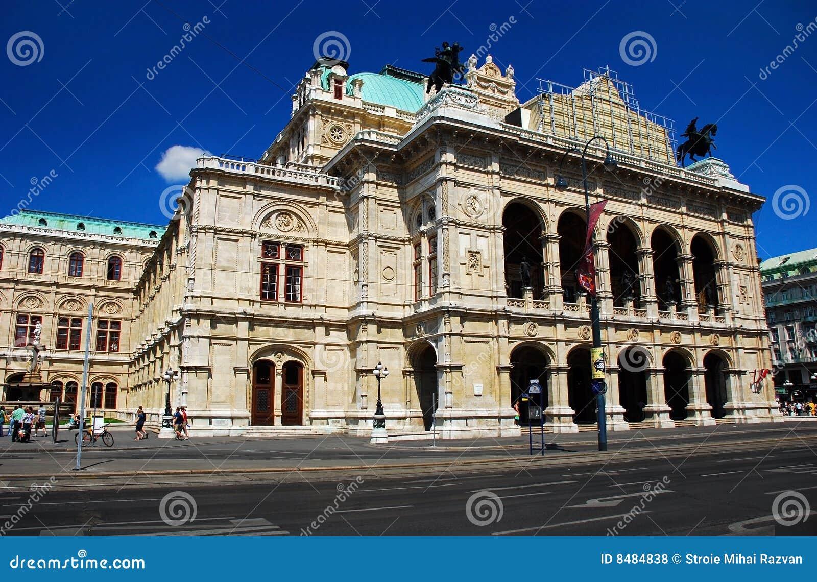 état Vienne d opéra de maison