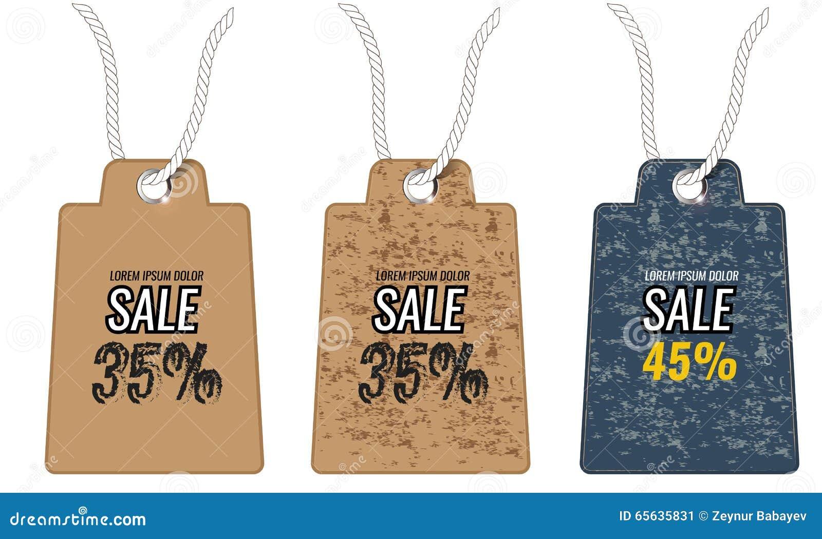 Étiquettes grunges de rétro vintage pour la qualité et la vente de la meilleure qualité Vecteur
