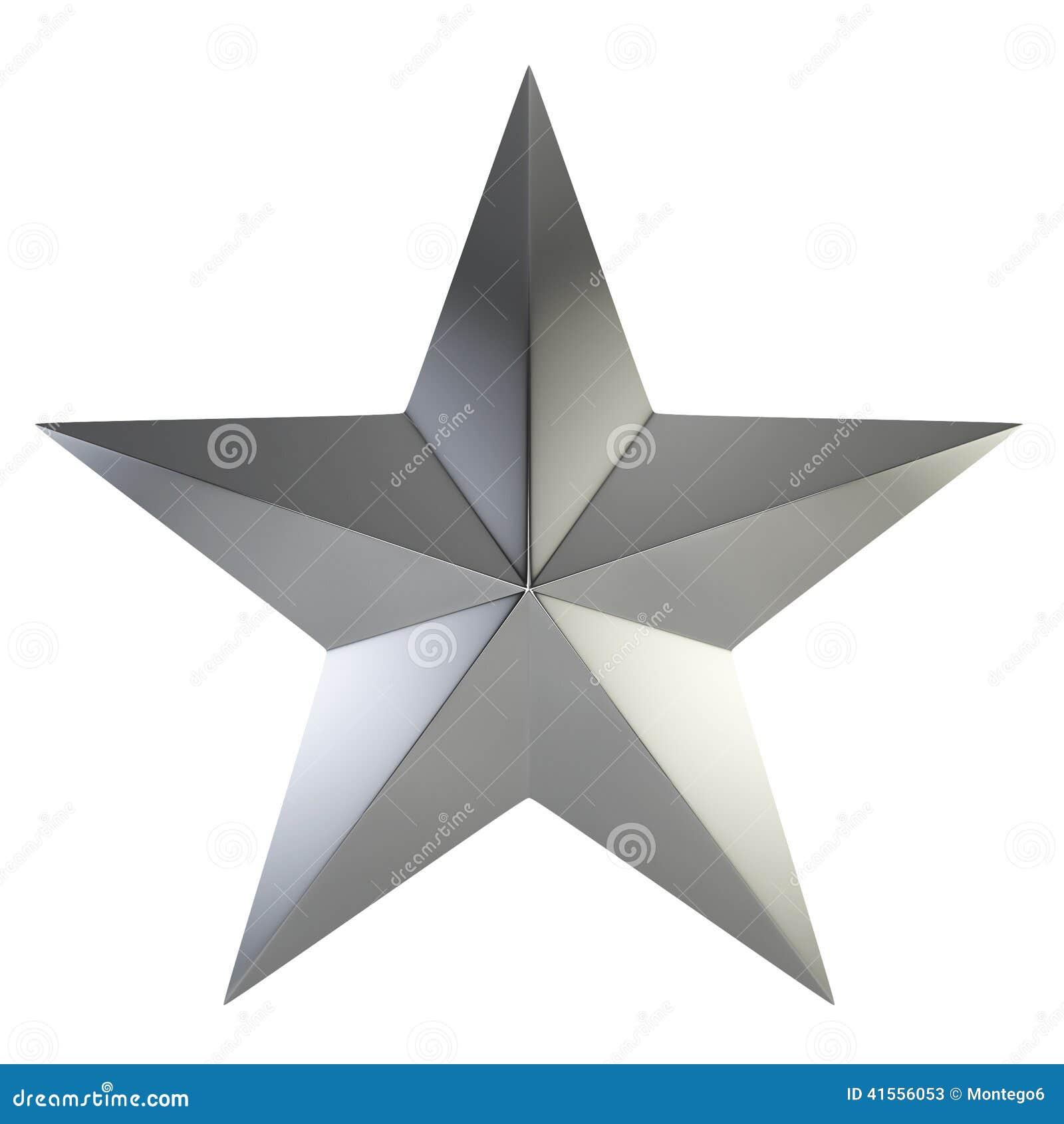 étoile Argentée Illustration Stock Illustration Du Prix 41556053