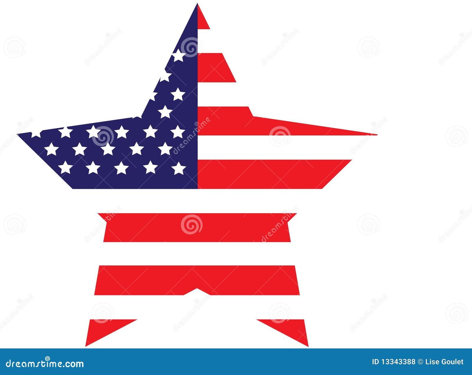Étoile d indicateur américain