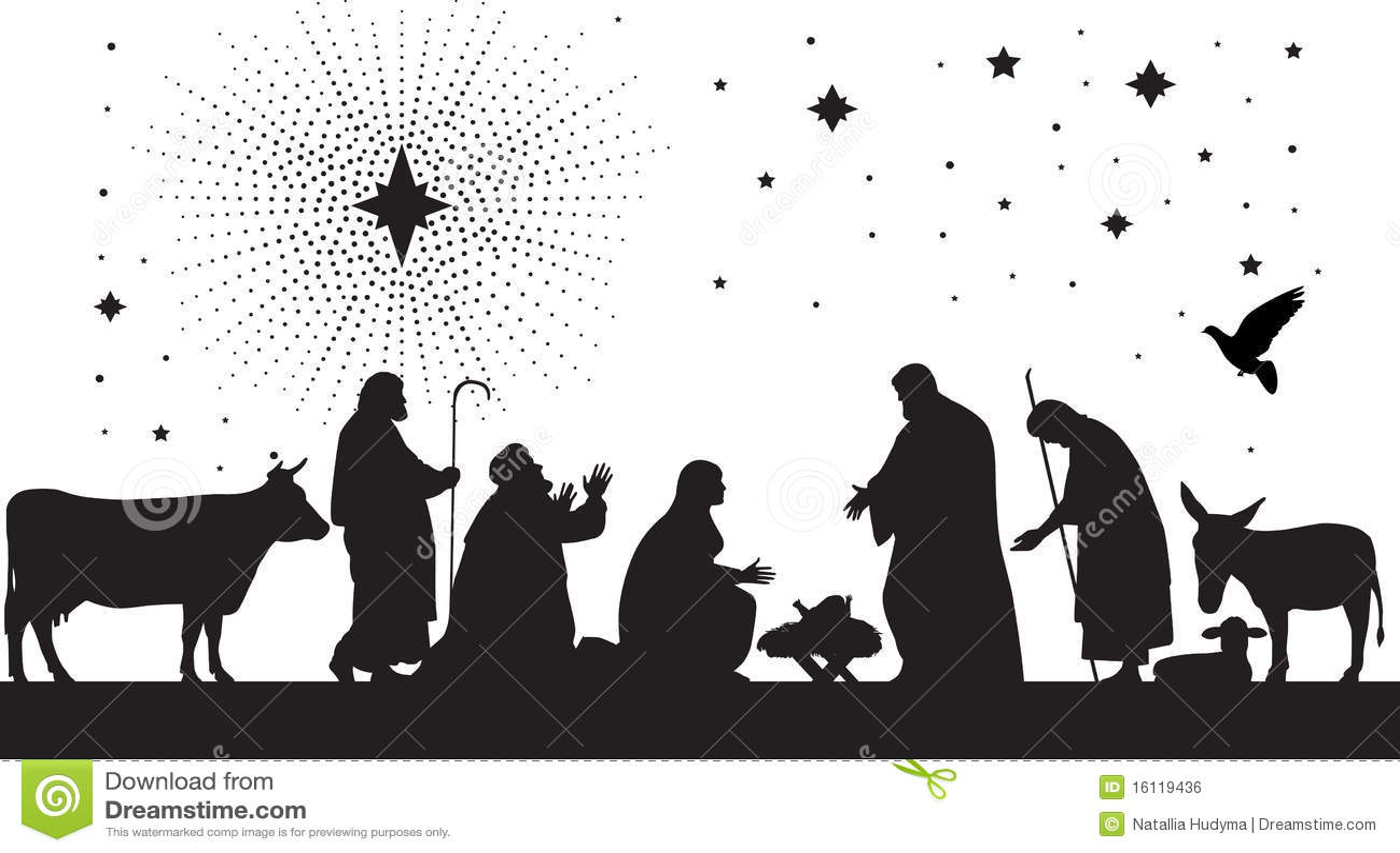 Étoile de Bethlehem.