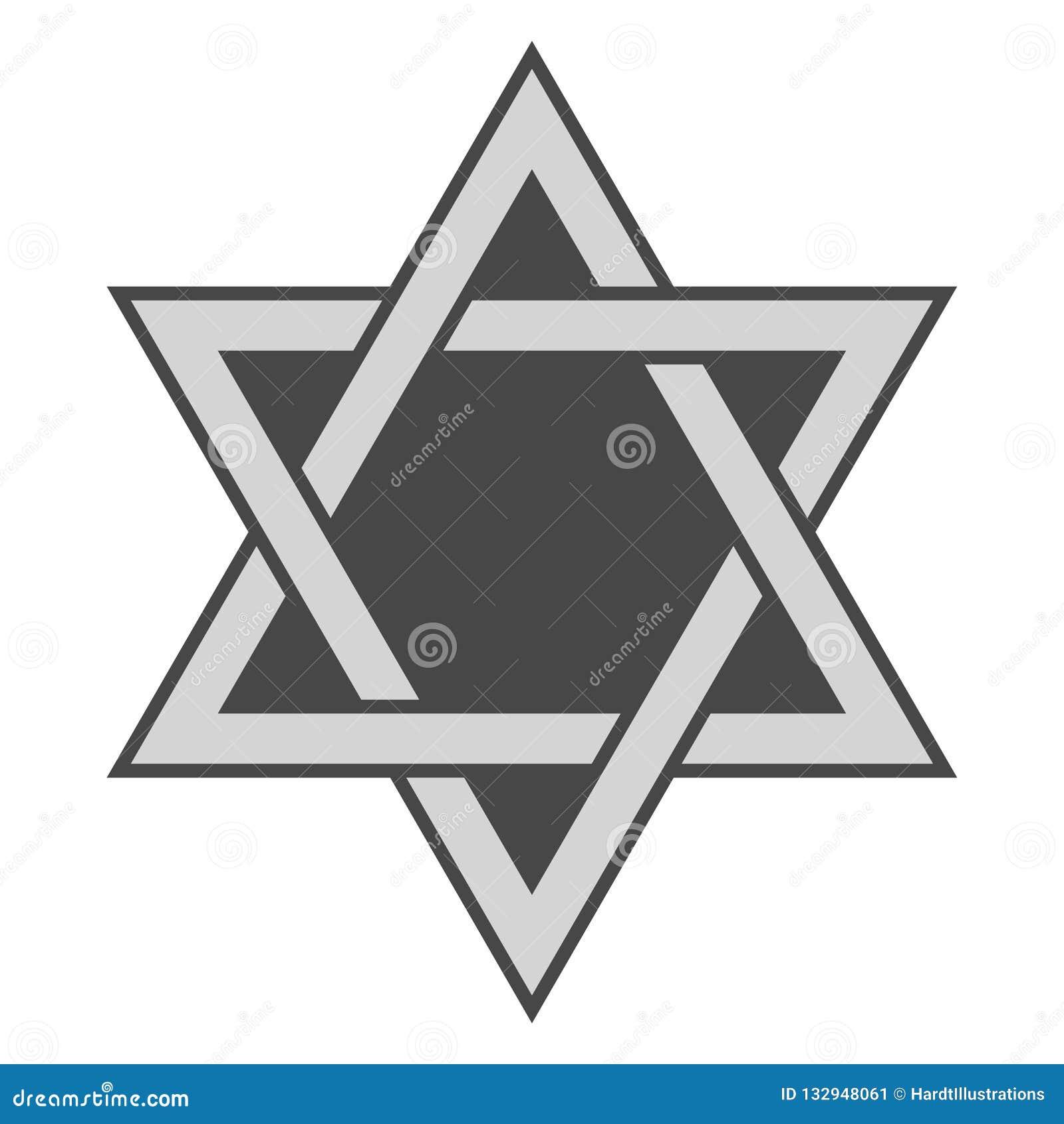étoile De David Illustration De Vecteur Illustration Du