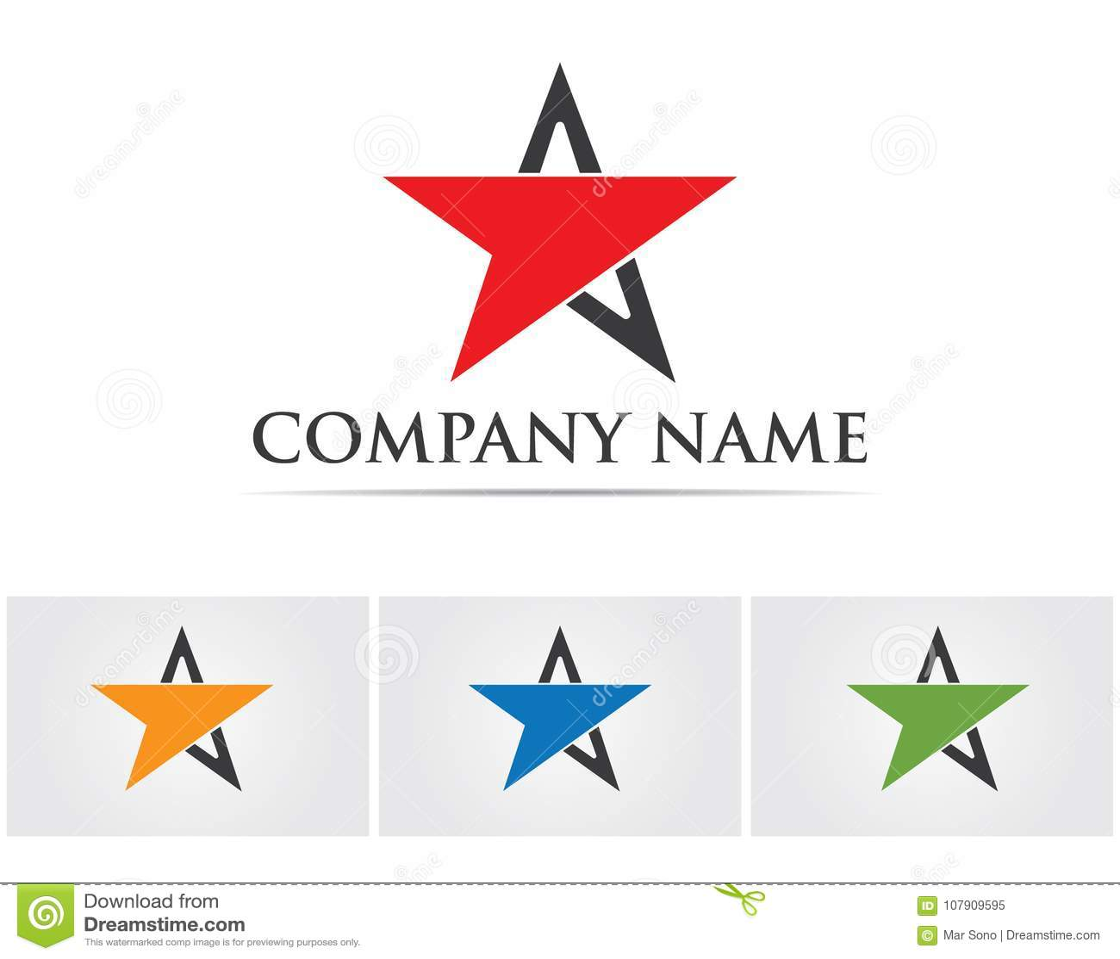 Étoile Logo Template de Logo Template Star Logo Template d étoile