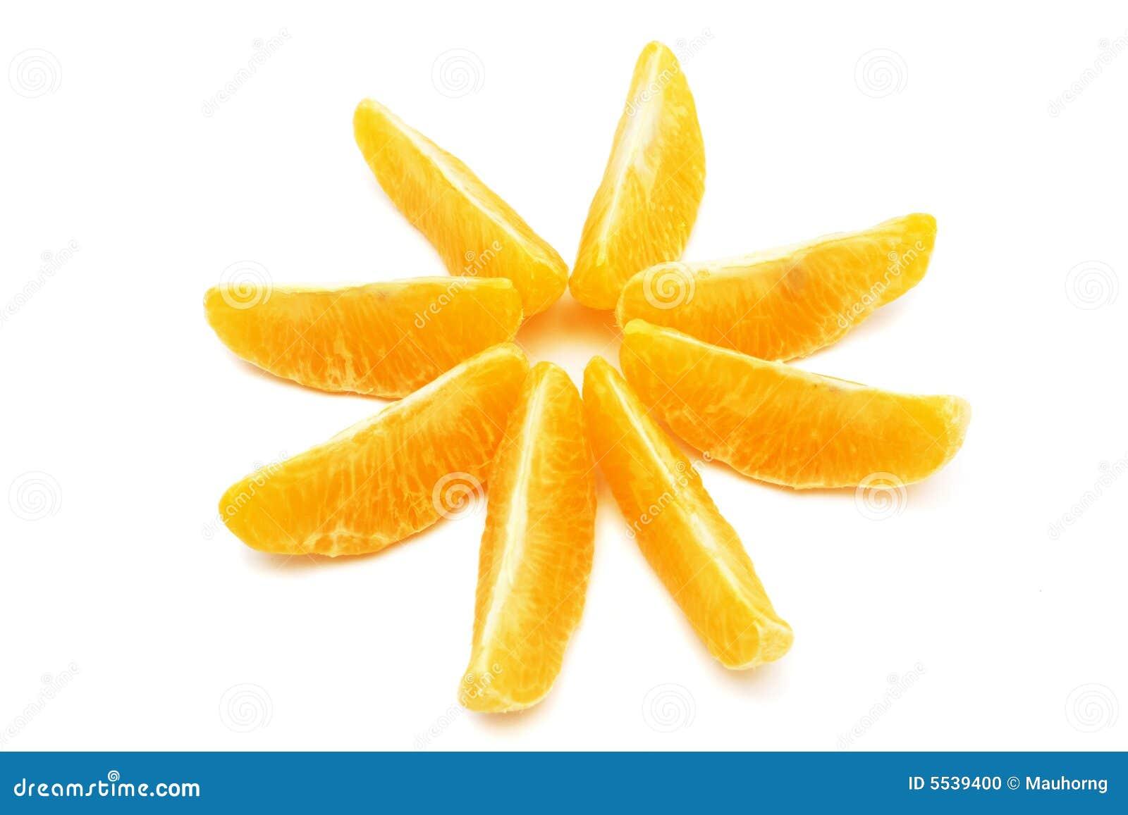 Étoile orange