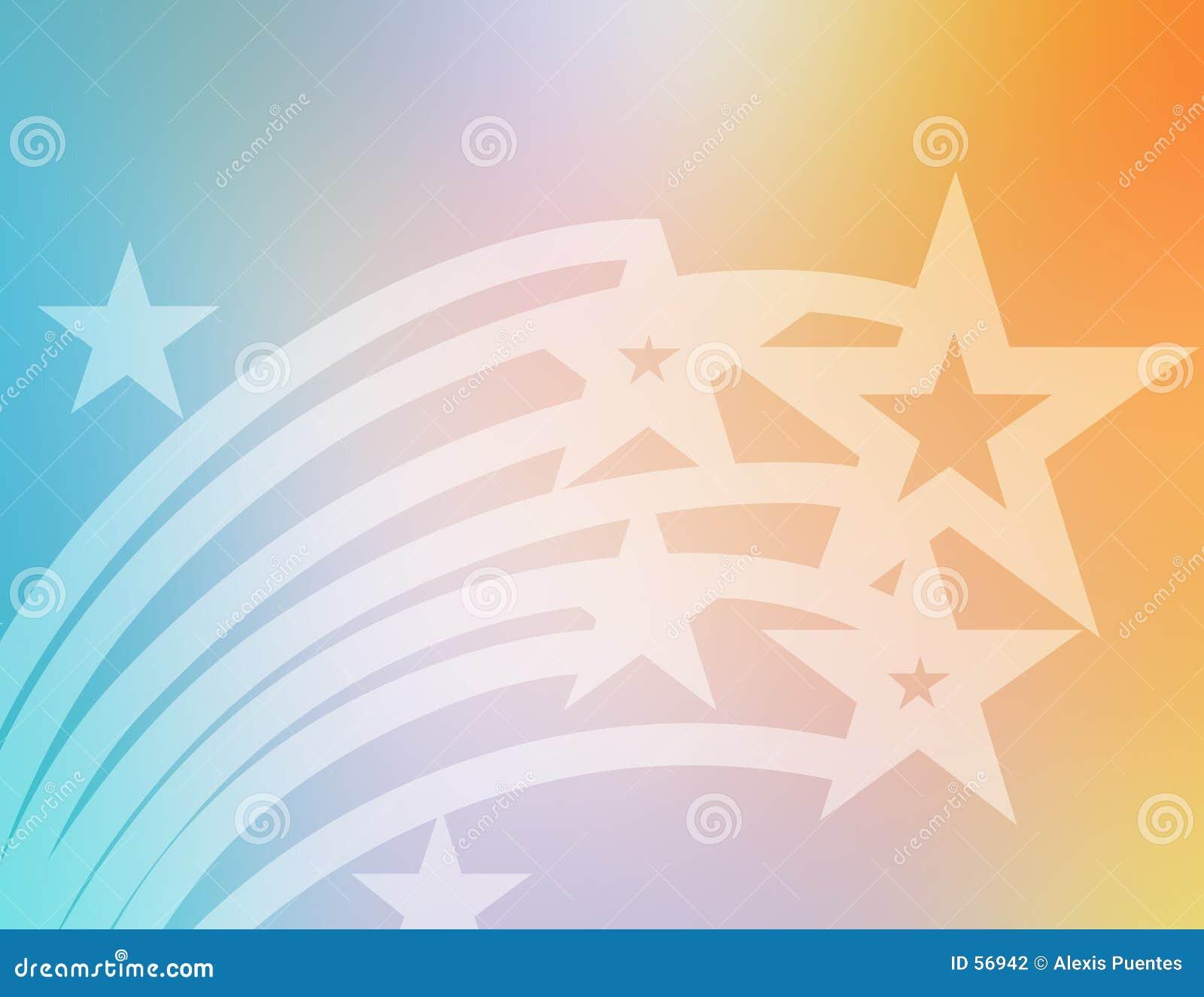 Download Étoiles de vol illustration stock. Illustration du fond - 56942