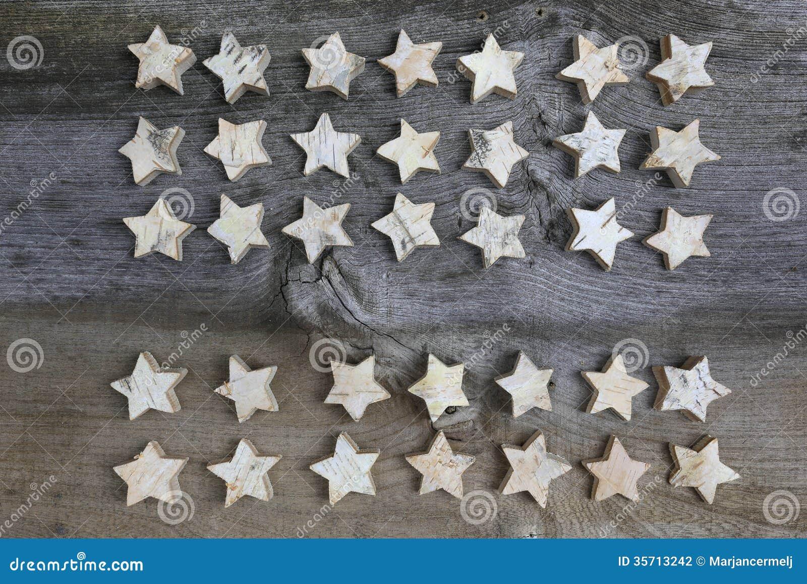 #82A328 Étoiles En Bois De Bouleau De Décoration De Joyeux Noël  5331 décorations de noel avec bouleau 1300x957 px @ aertt.com