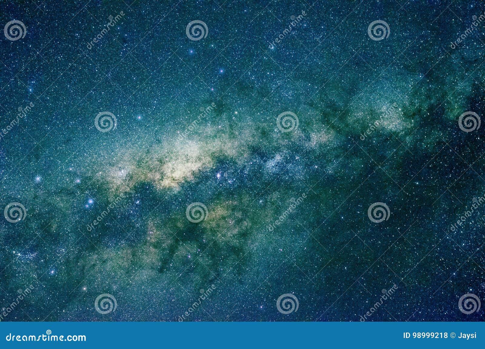 Étoiles et fond d univers de nuit de ciel d espace extra-atmosphérique de galaxie