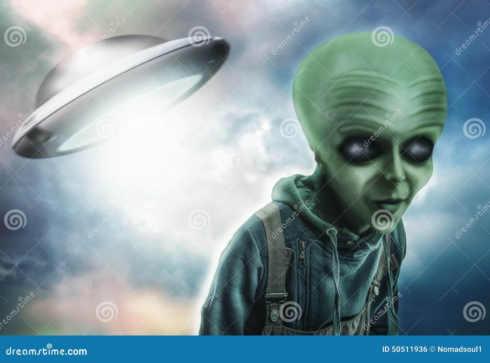 Étranger et UFO