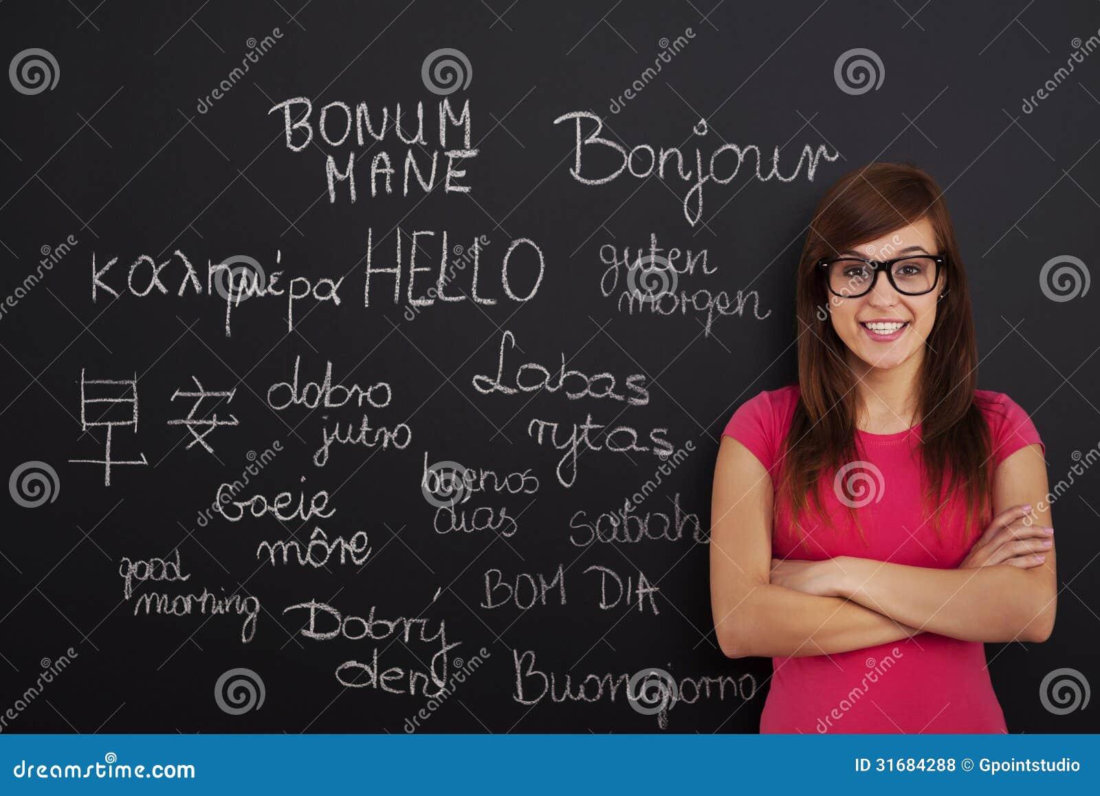 Étude des langues étrangères