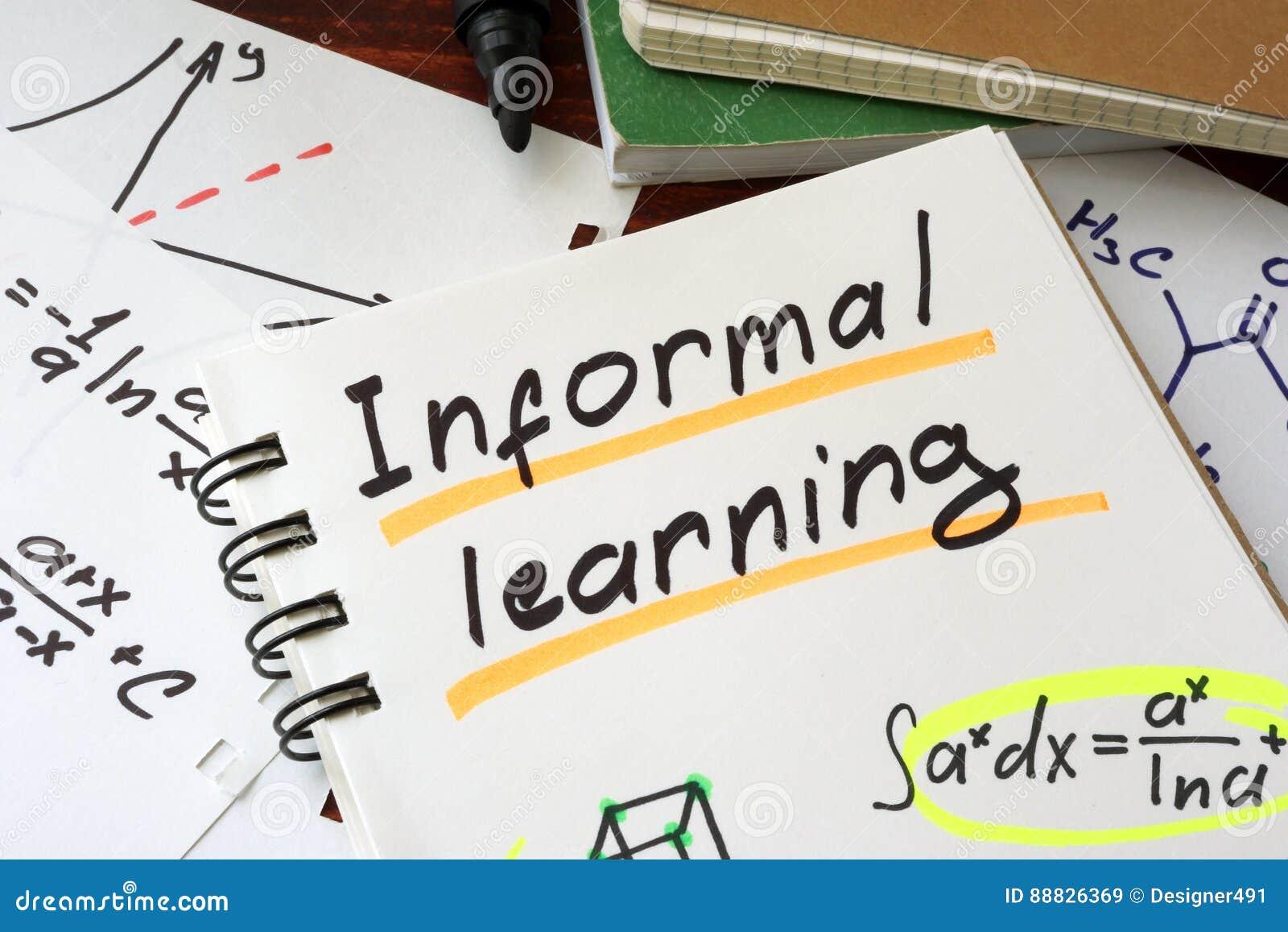 Étude informelle écrite sur une feuille de bloc-notes