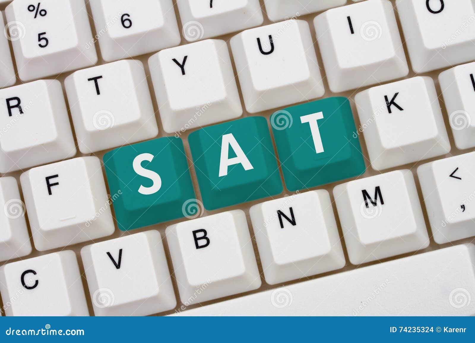 Étude pour votre SAT en ligne