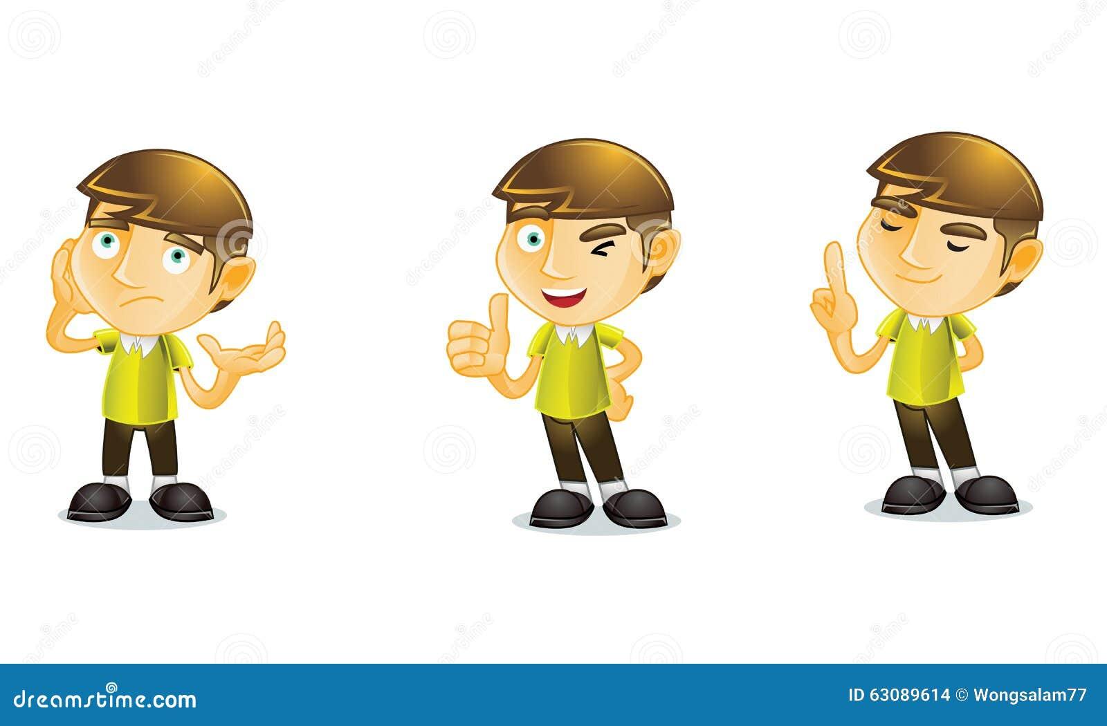 Download Étudiant 2 illustration de vecteur. Illustration du uniforme - 63089614