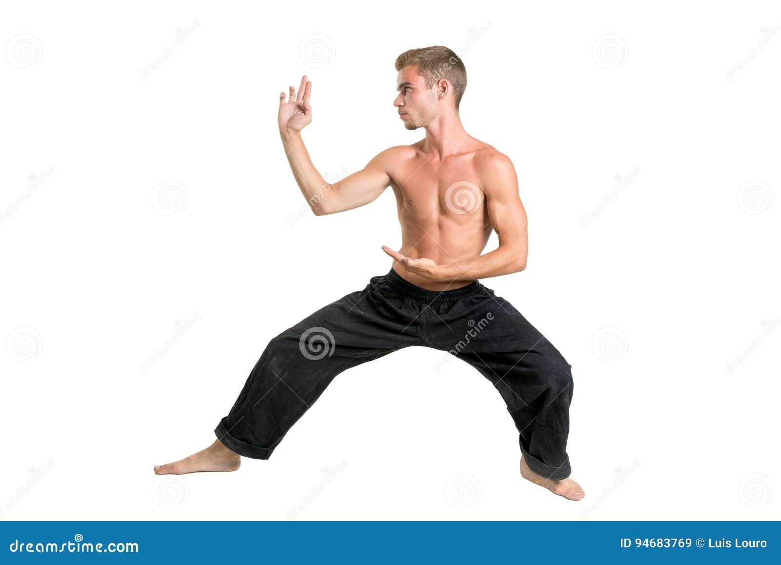 Étudiant d arts martiaux