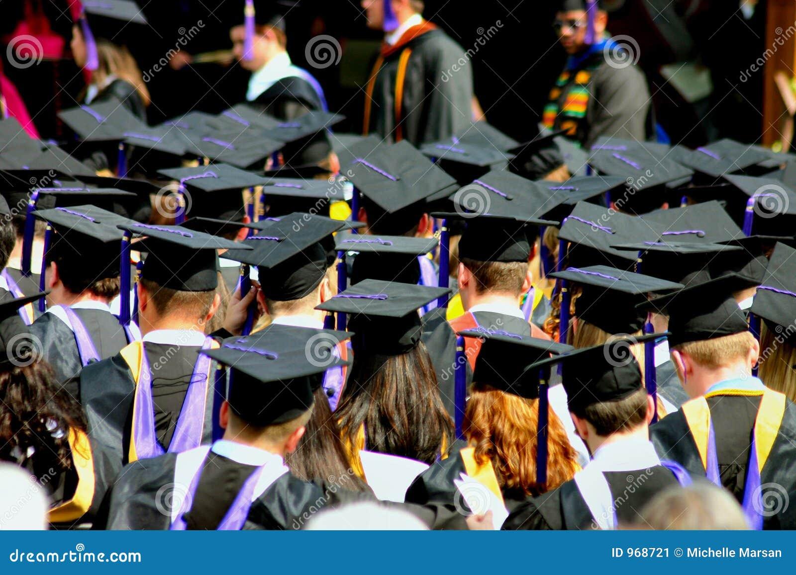 Étudiants à la graduation