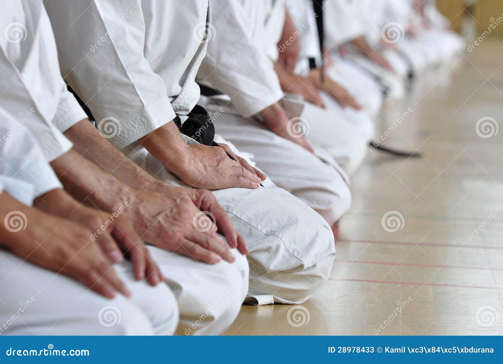 Étudiants d arts martiaux
