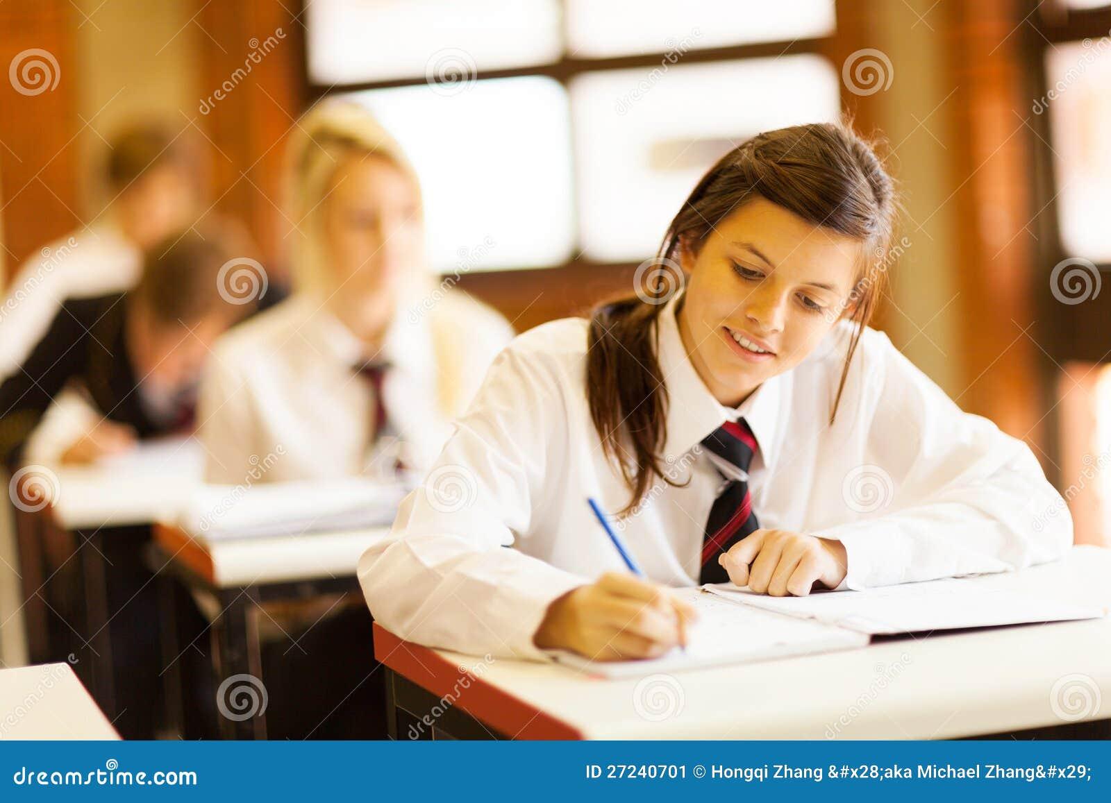 Étudiants de lycée