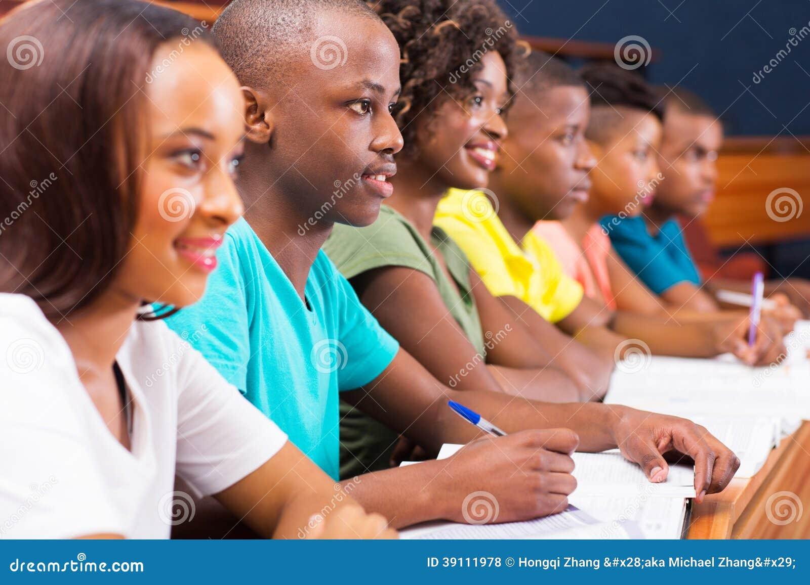 Étudiants universitaires africains