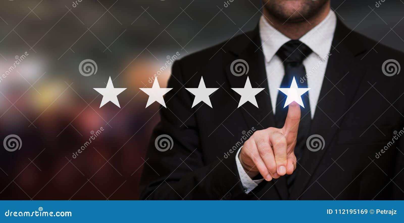 Évaluation de cinq étoiles