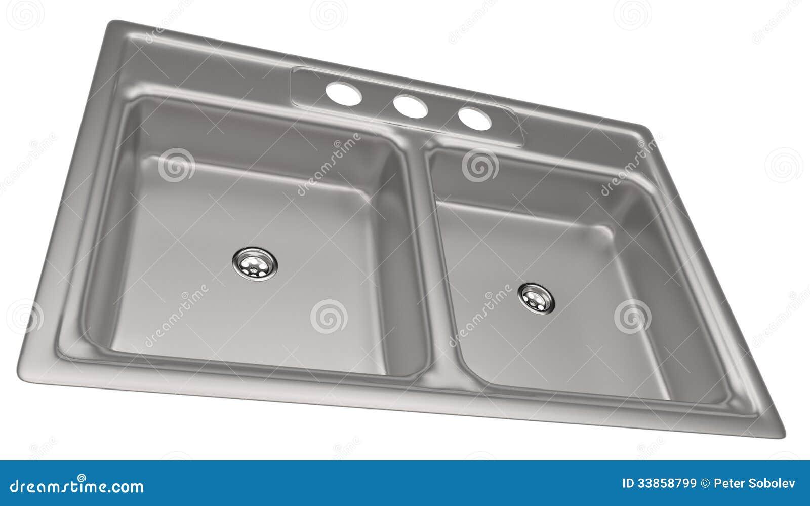 Vier de cuisine d 39 acier inoxydable images libres de for Acier inoxydable cuisine