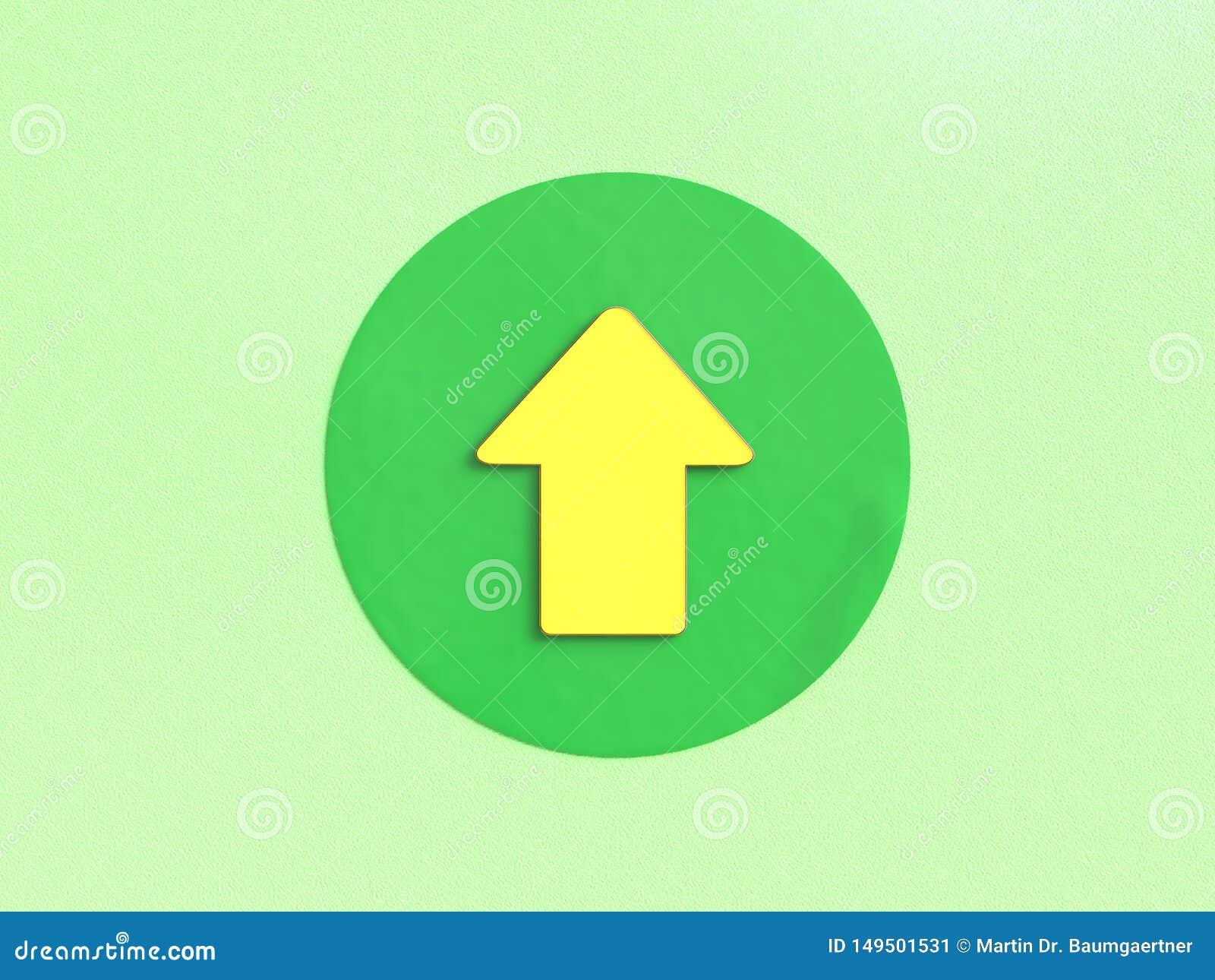 ?xito: Flecha ascendente