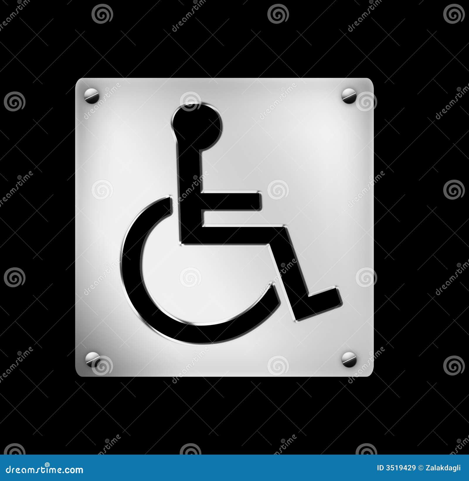 ícone, cadeira de rodas, hospitais, ilustração