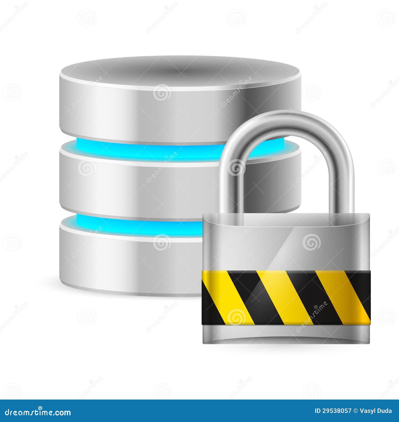 Ícone da base de dados fora