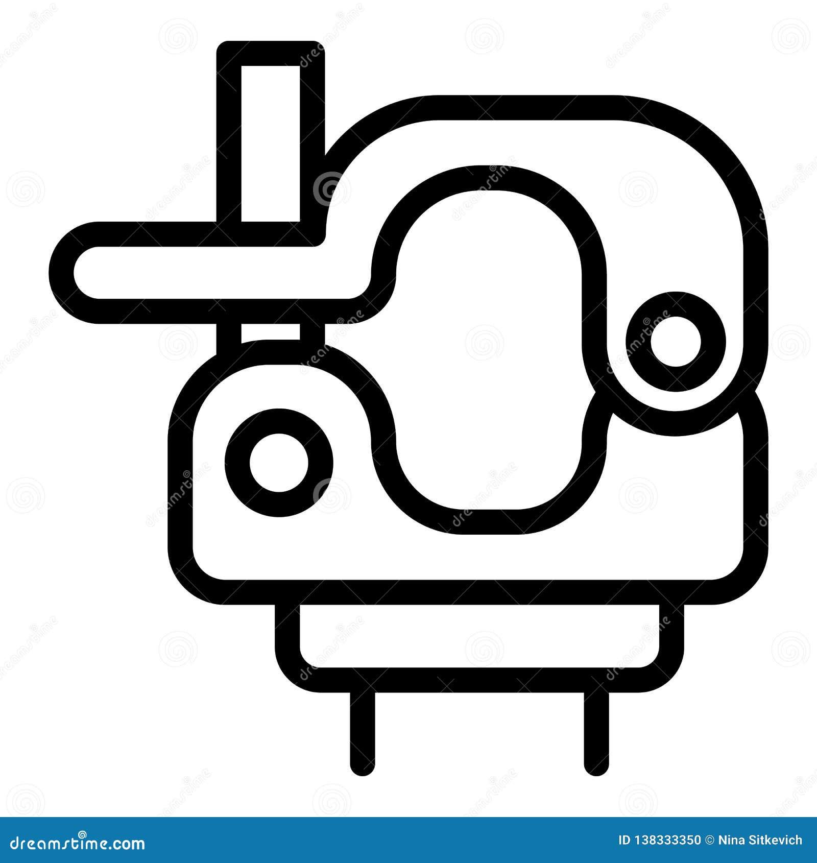 Ícone da braçadeira do giro, estilo do esboço