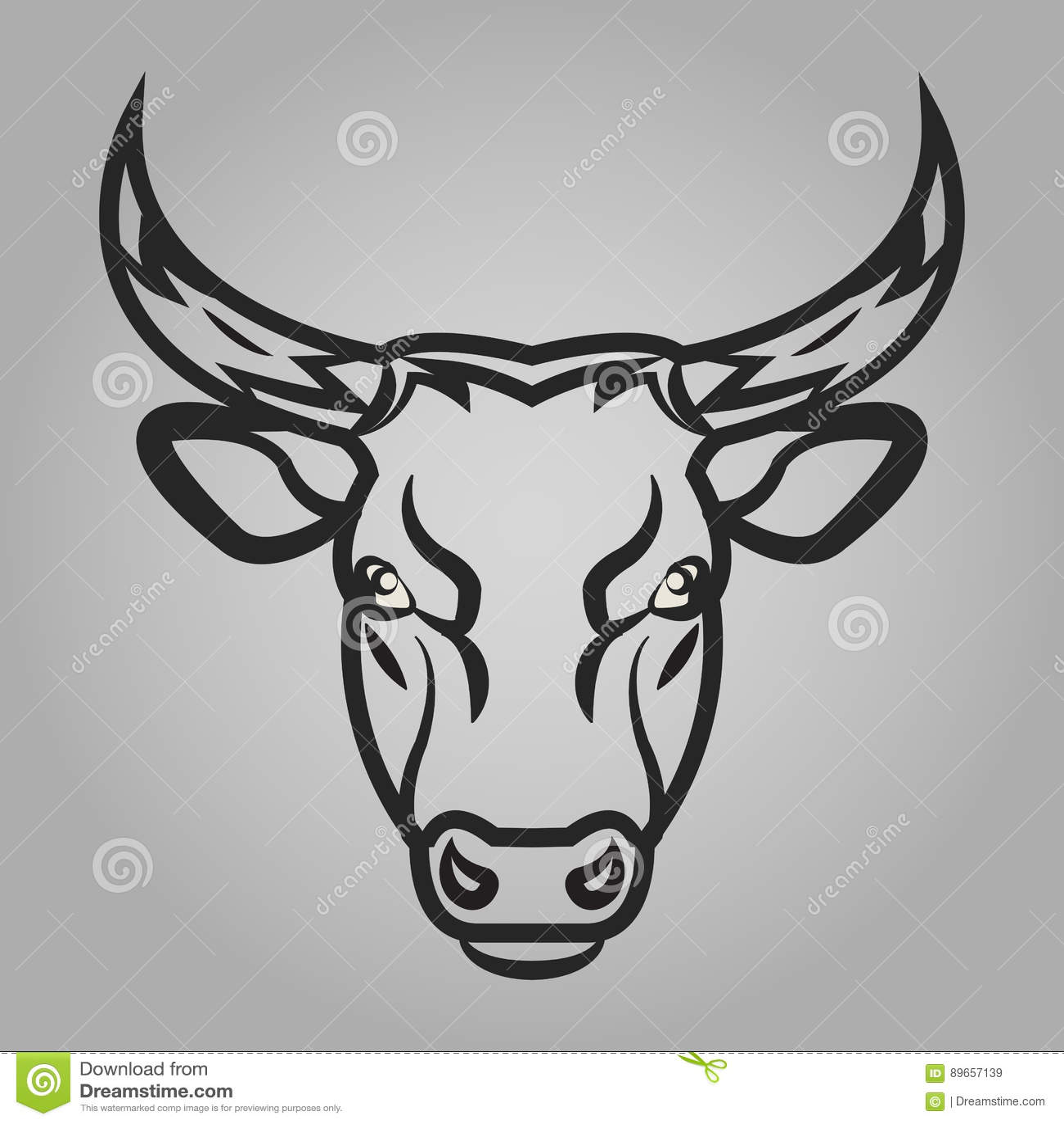 Ícone da cabeça de Bull