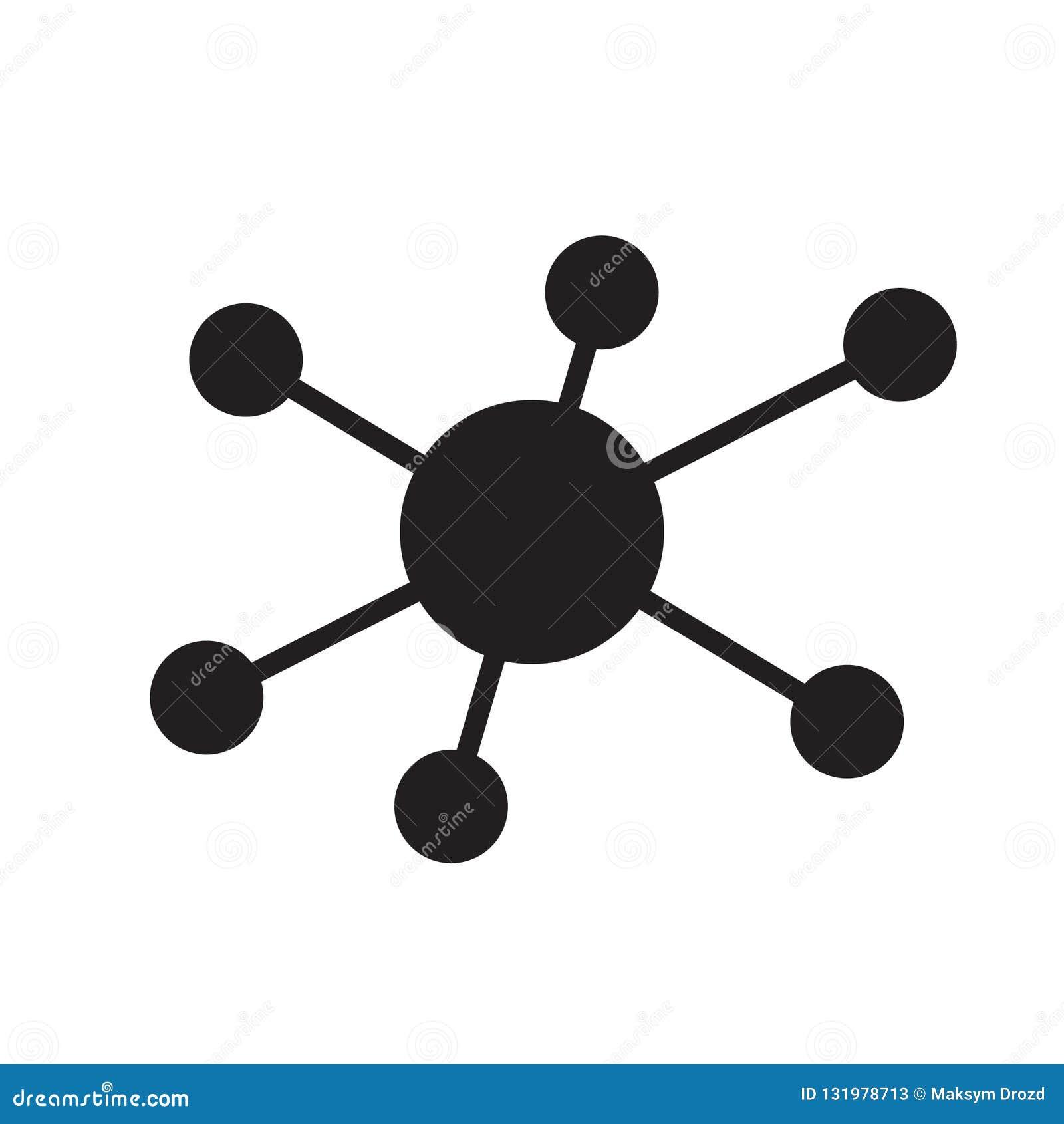 Ícone da conexão de rede do cubo