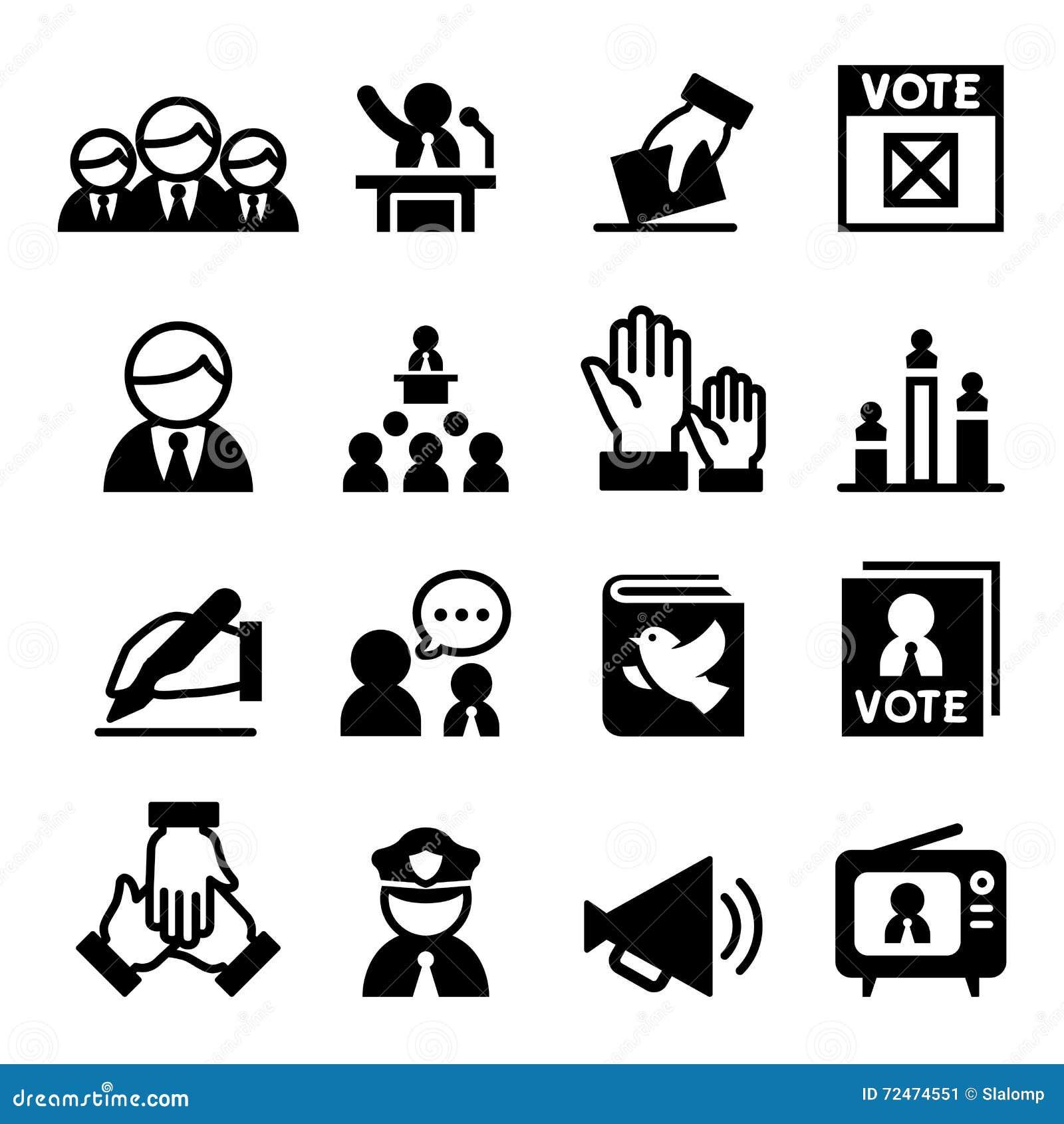 Ícone da democracia