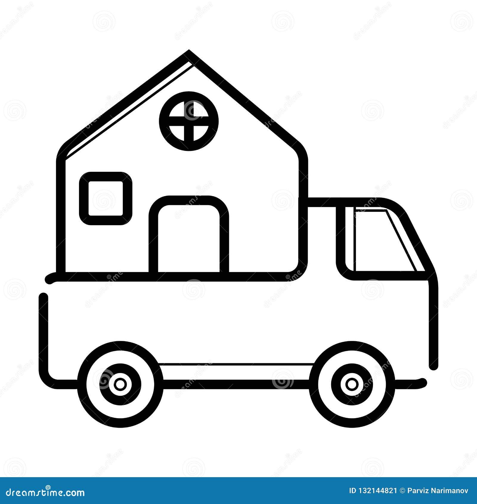 Ícone da entrega a domicílio