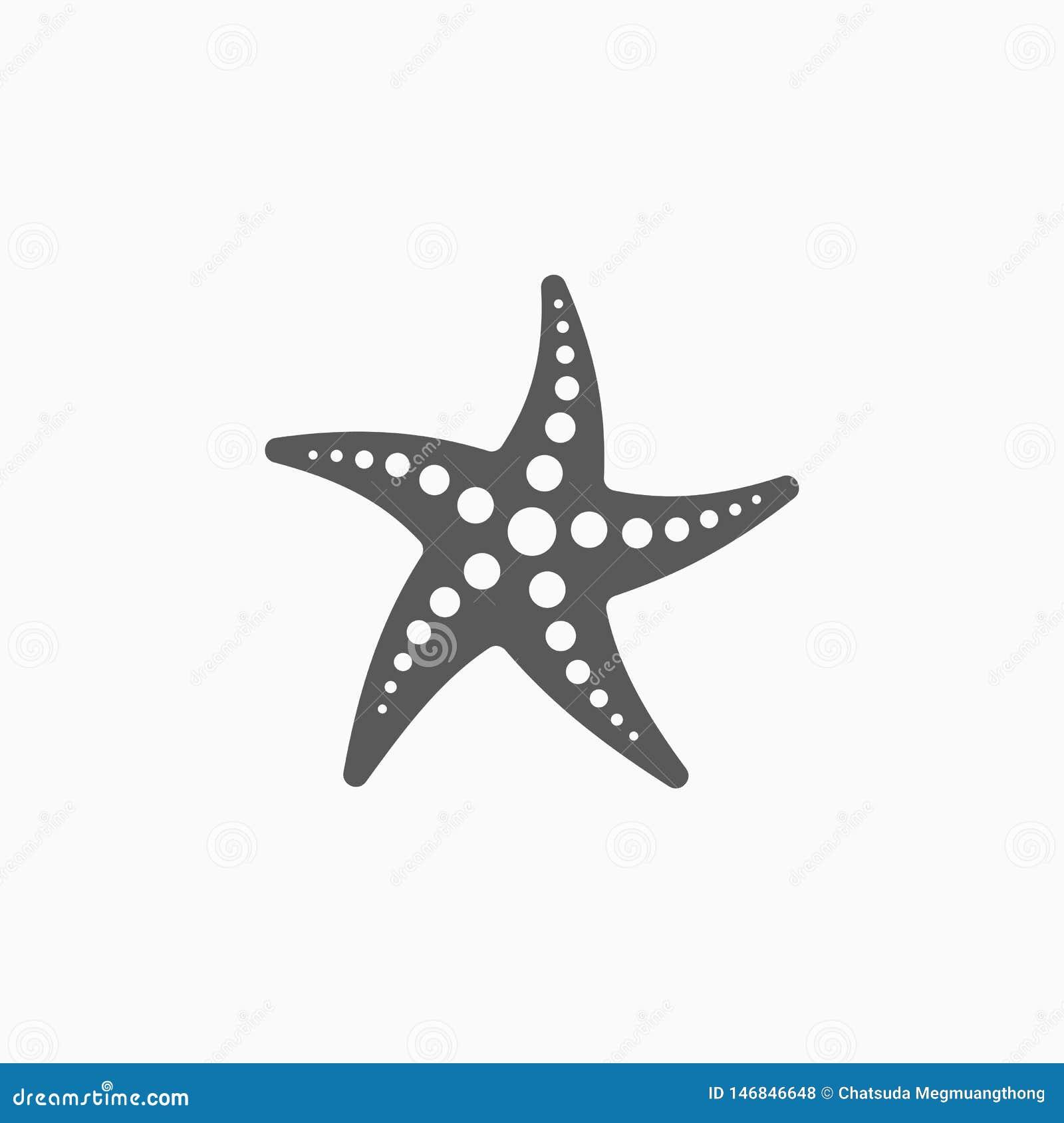 Ícone da estrela do mar, estrela, escudo, fuzileiro naval, animal