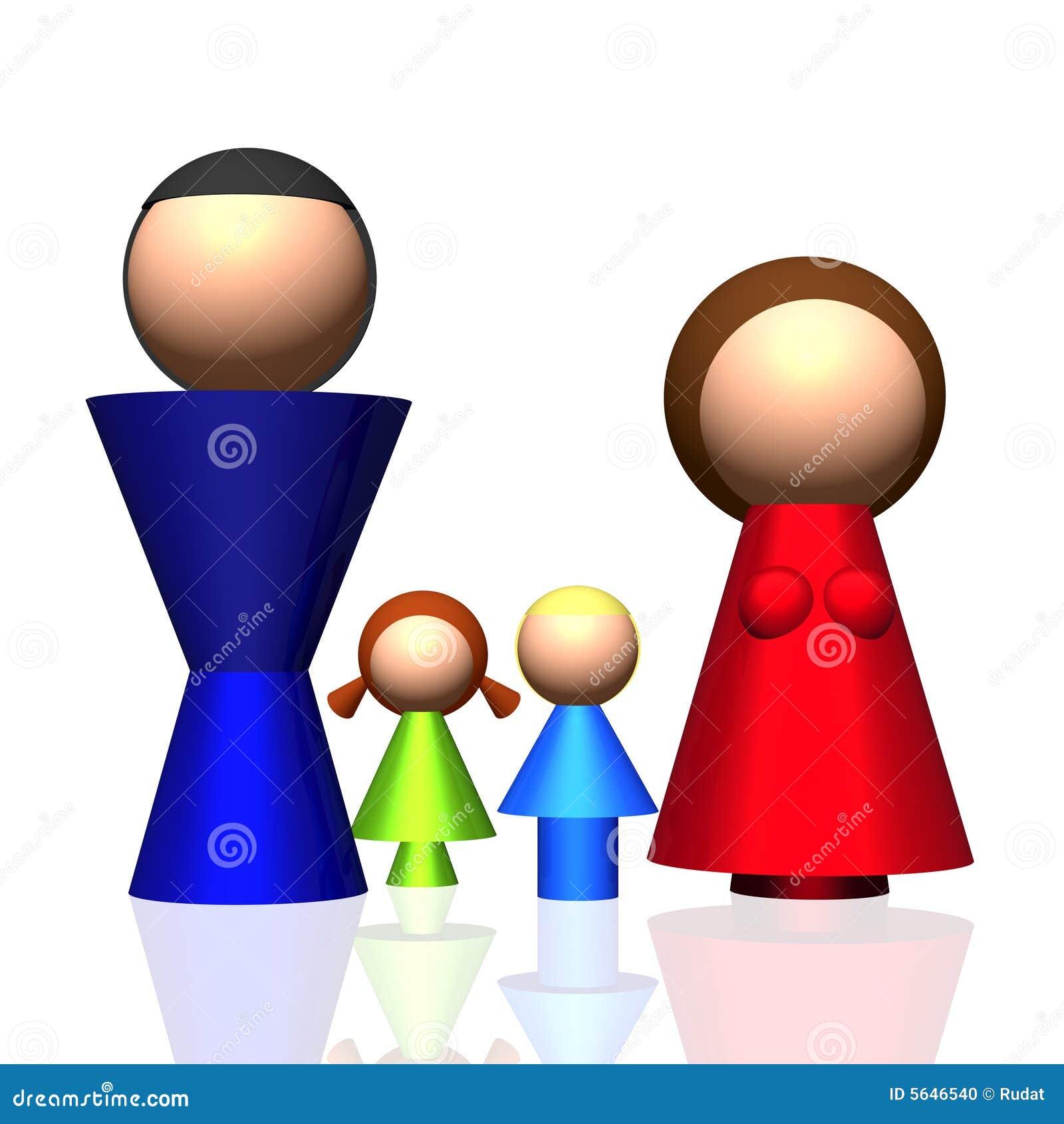 ícone da família 3D