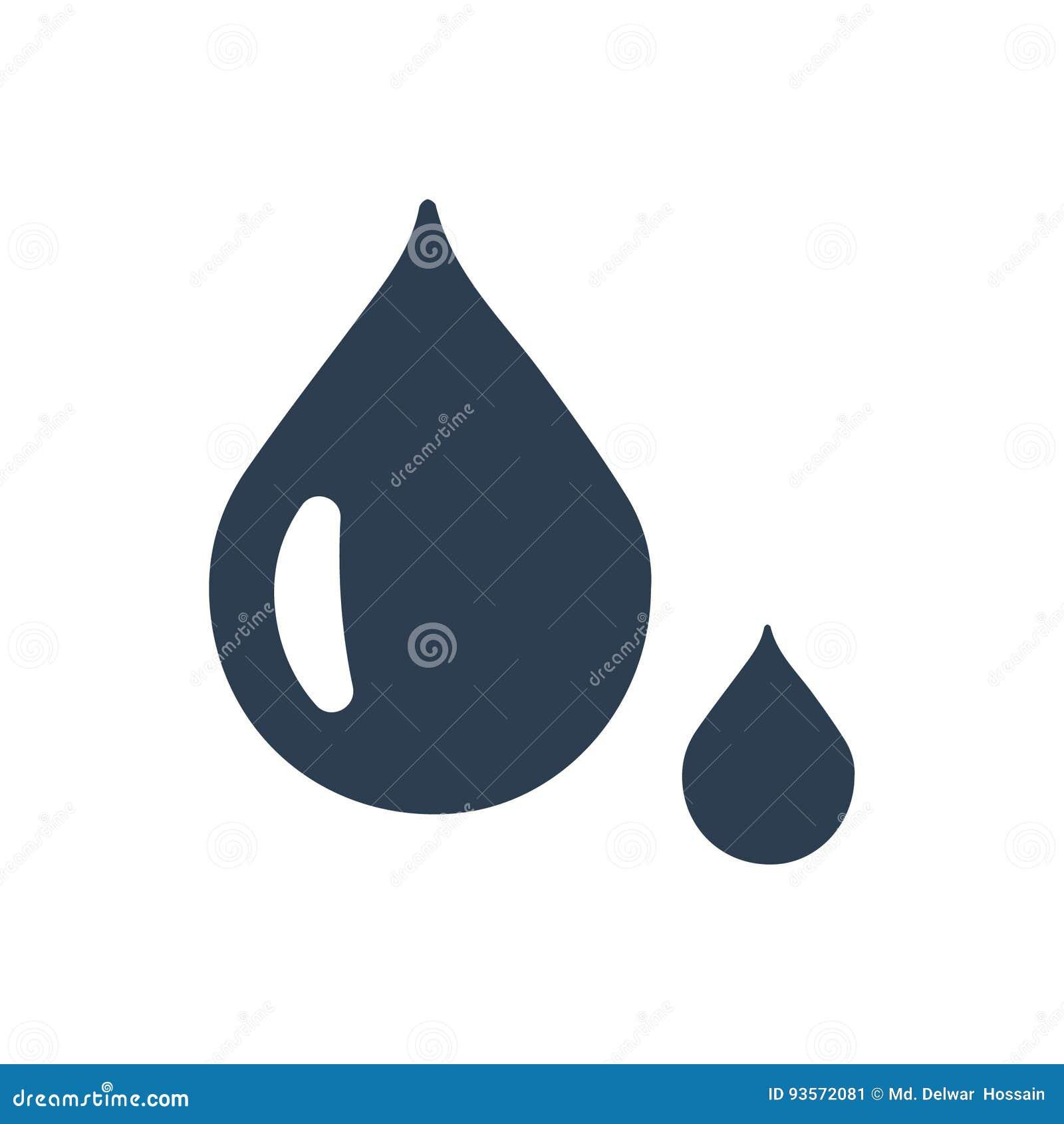 Ícone da gota da água